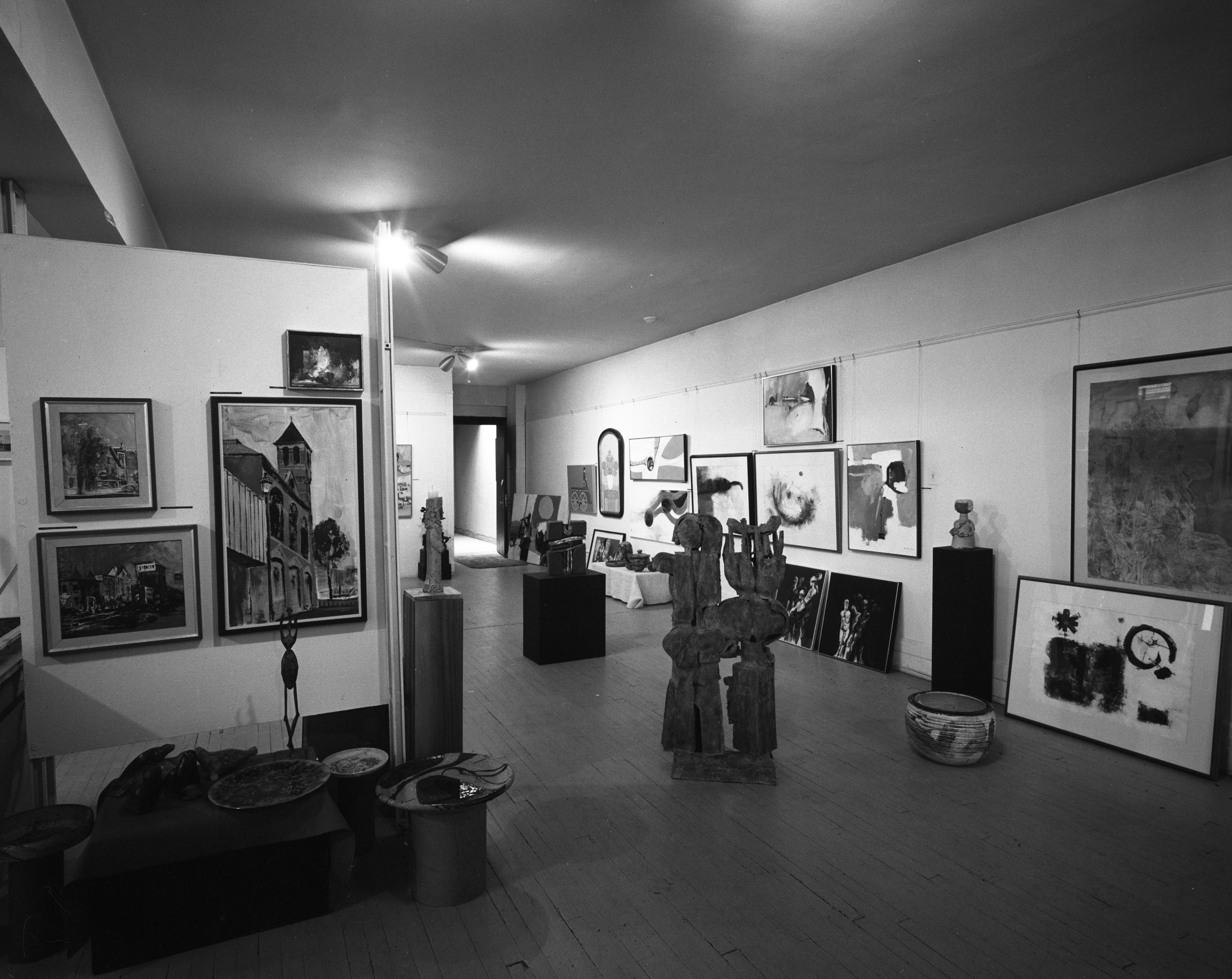 Forsythe Gallery Christmas Exhibit, November 1967 image