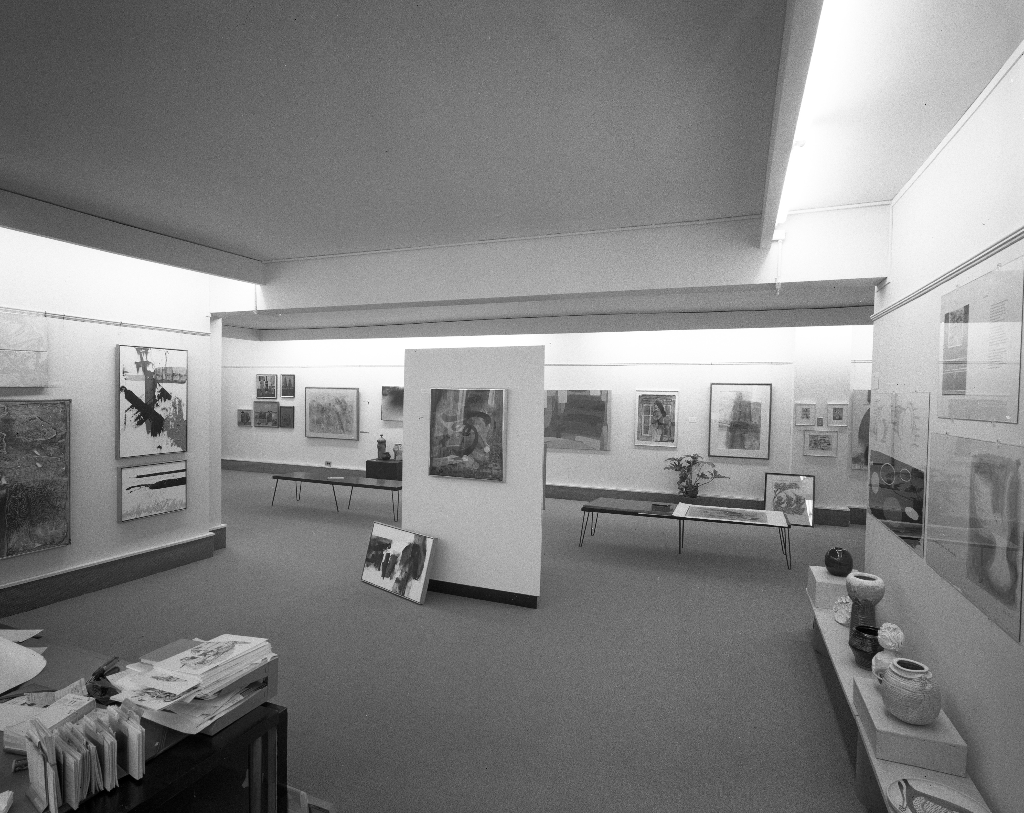 Forsythe Gallery In Nickels Arcade Completes Remodeling Project, November 1969 image