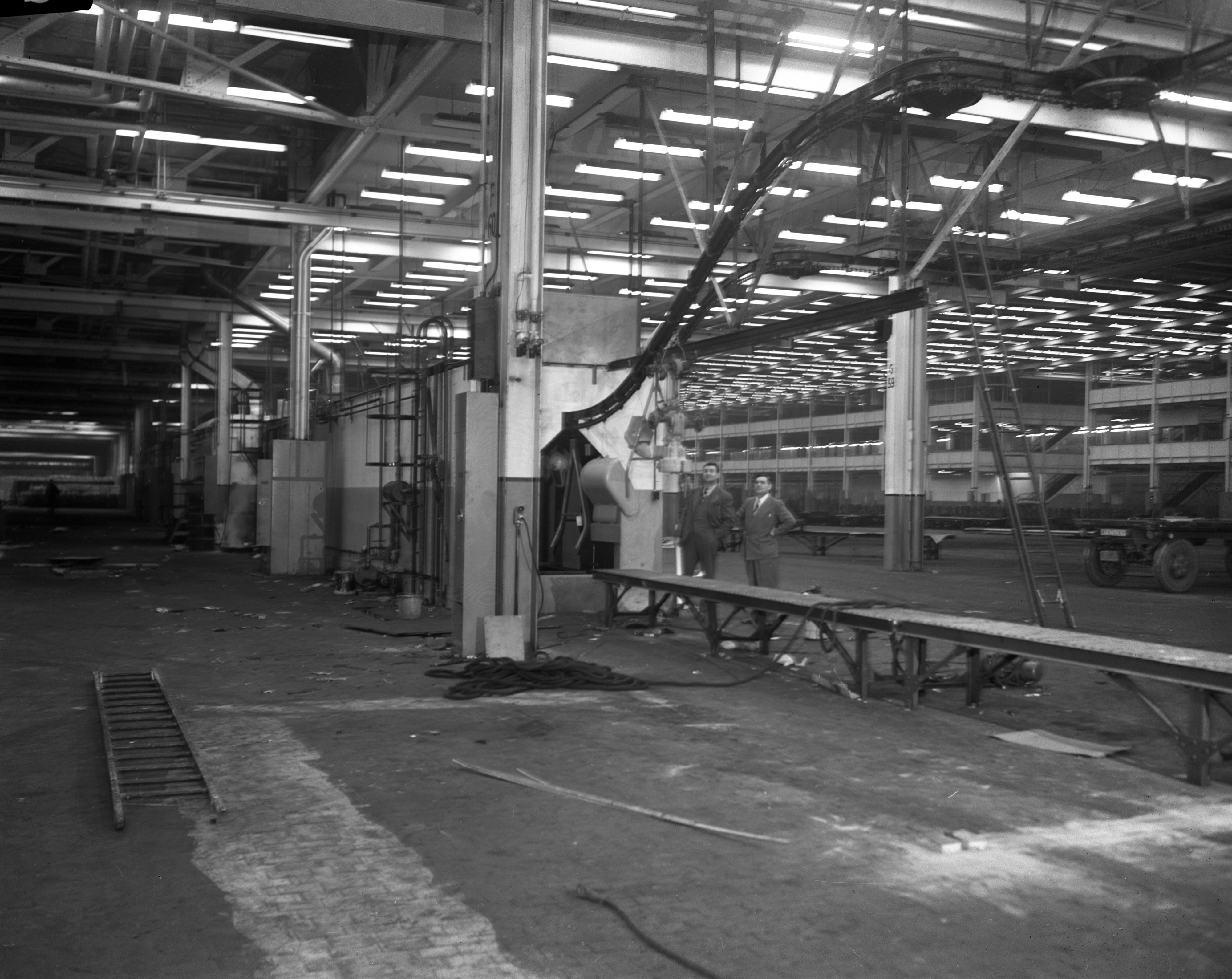 Kaiser-Frazer Corp.'s reconversion of Willow Run Bomber Plant, February 1946 image
