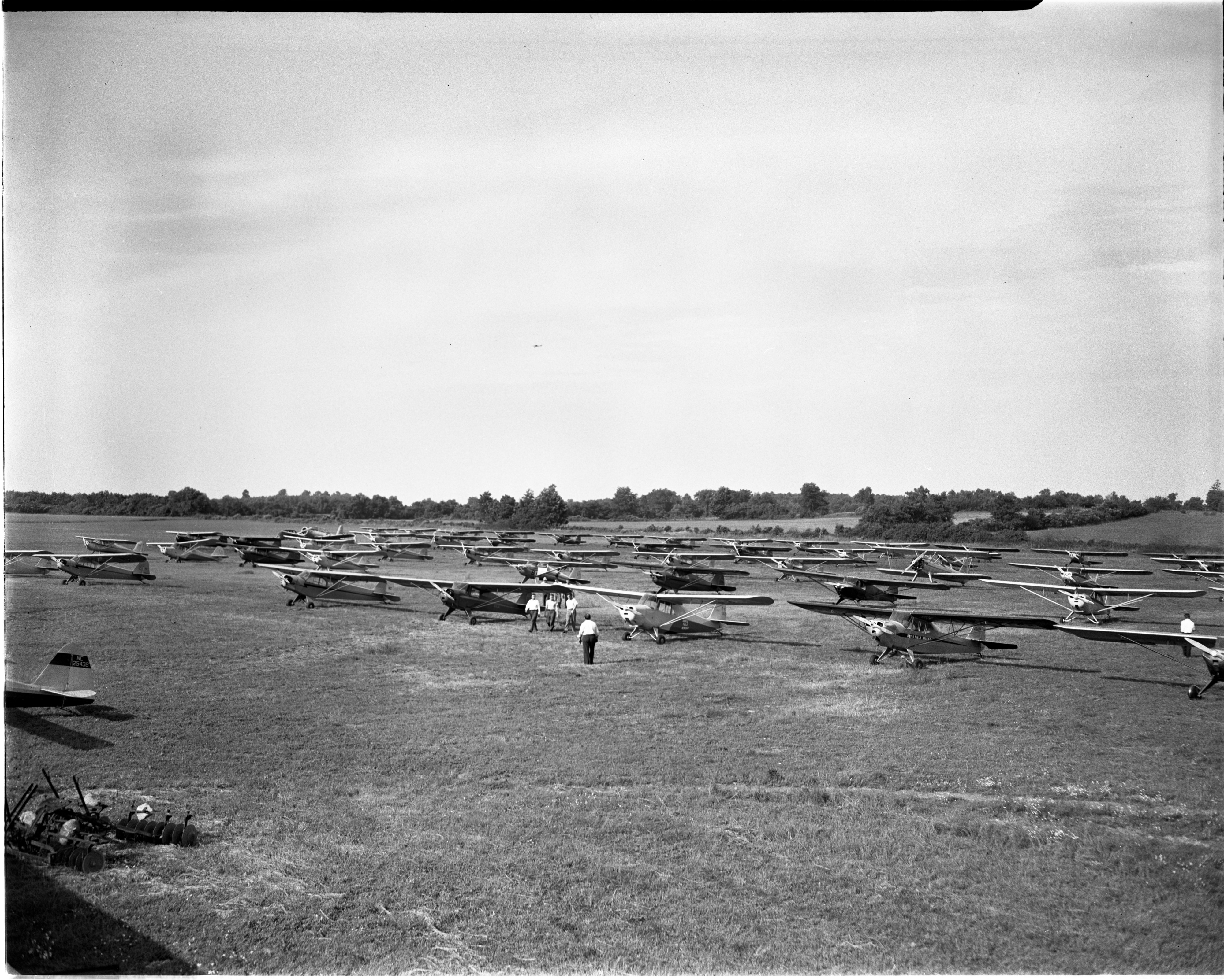 The Dawn Patrol Aviators Visit Jonesville, June 1947 image