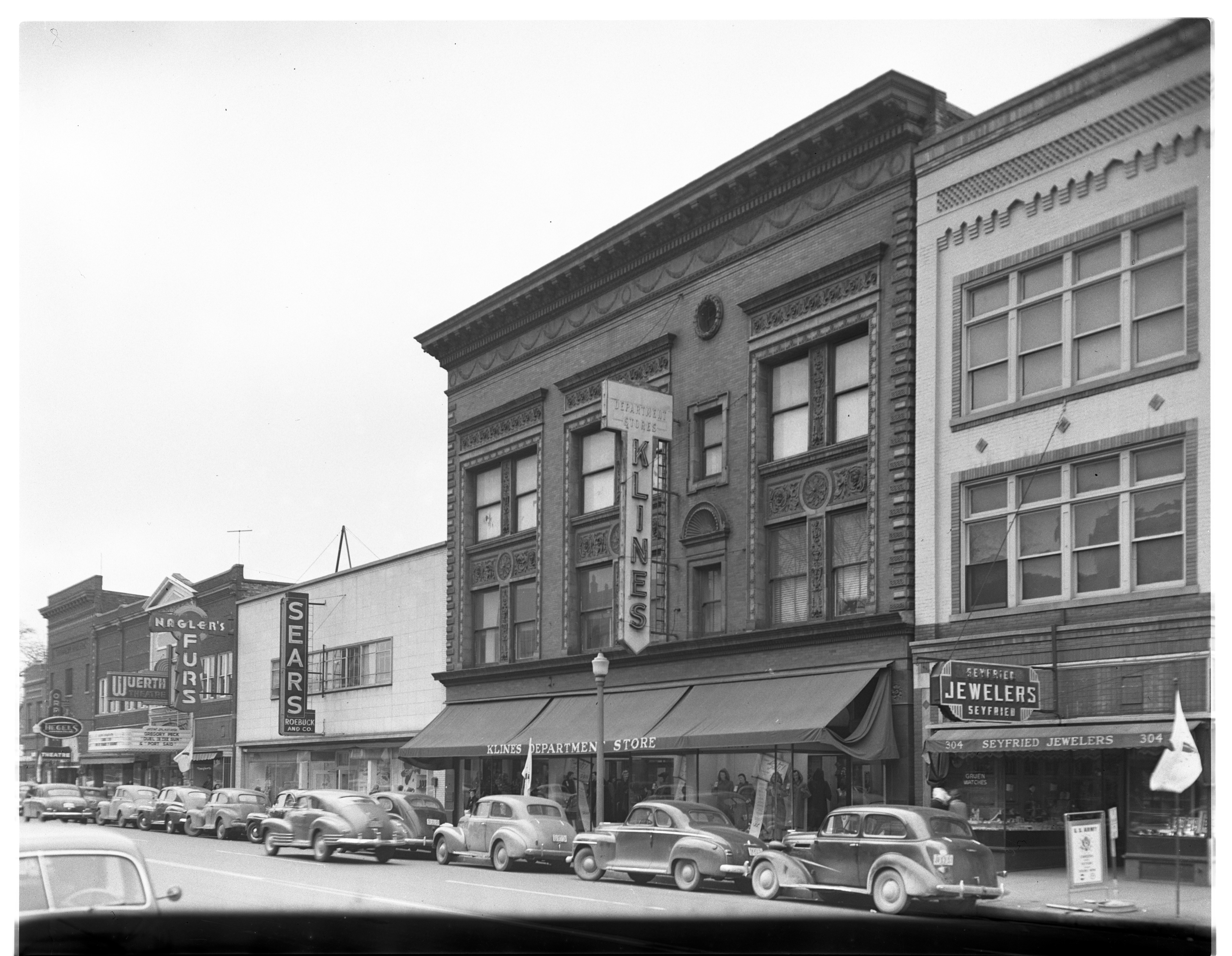 Sears and Kline's, 1949 image
