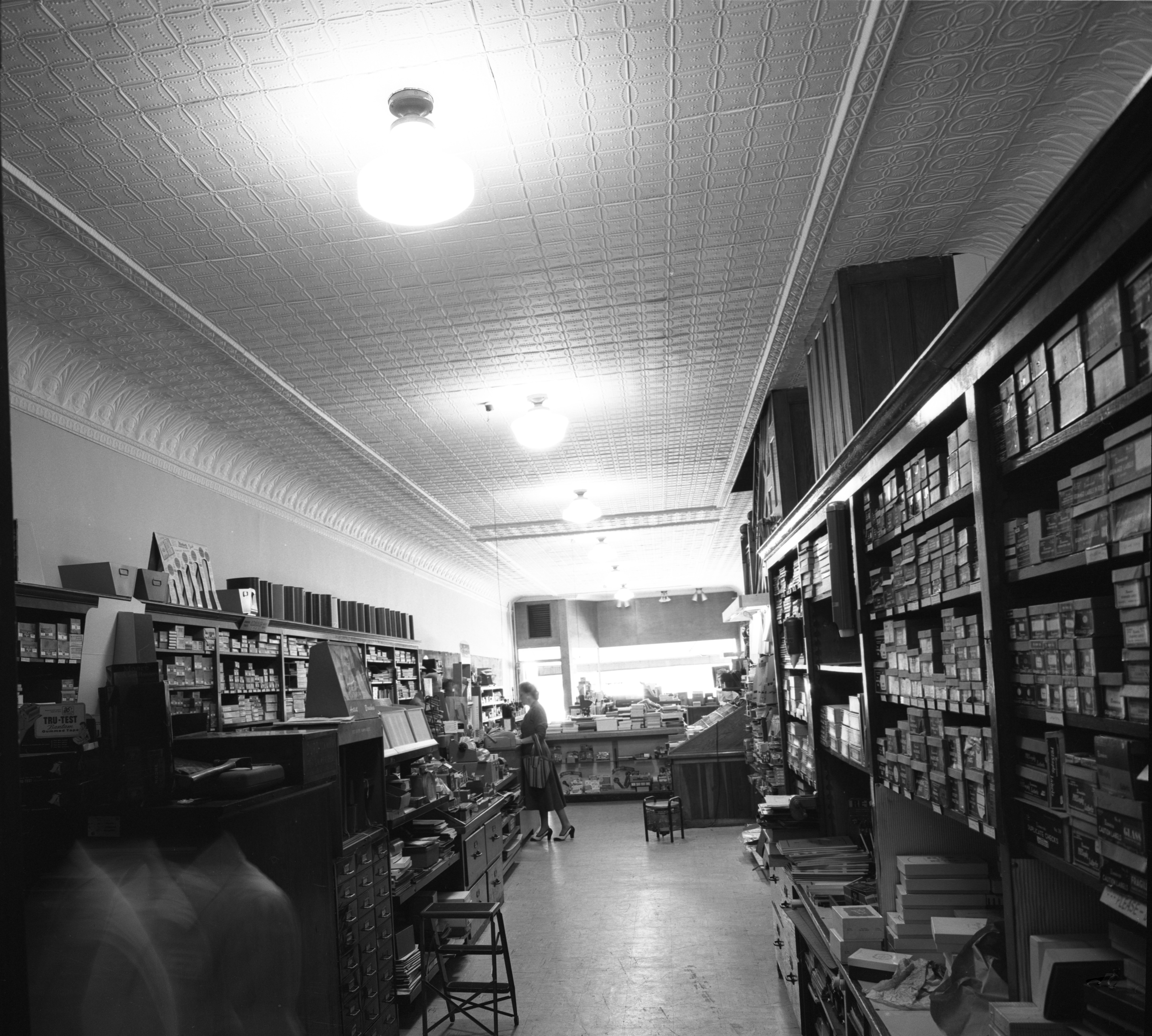 Interior Of Mayer-Schairer Prior To Remodeling, August 1956 image