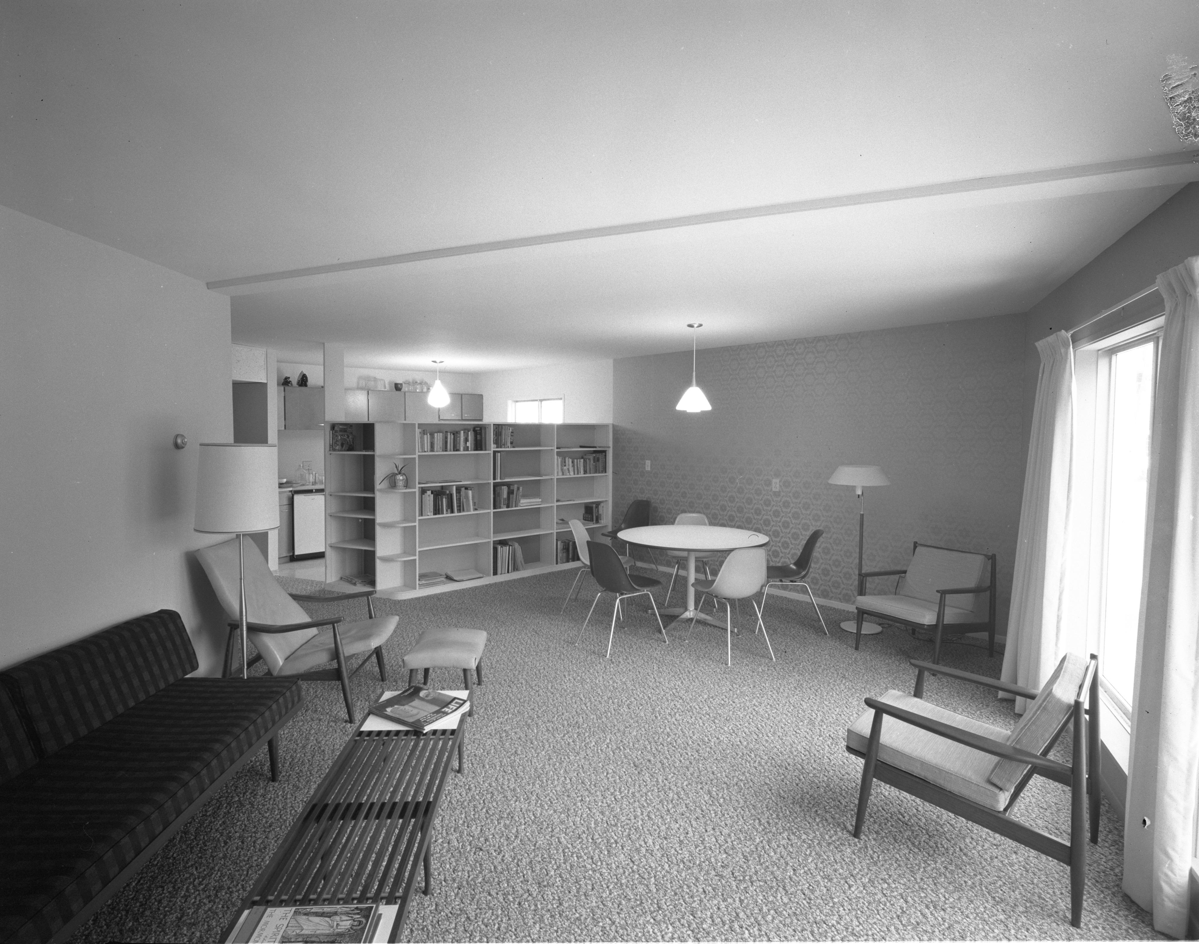 Charter House Apartment Interior December 1961