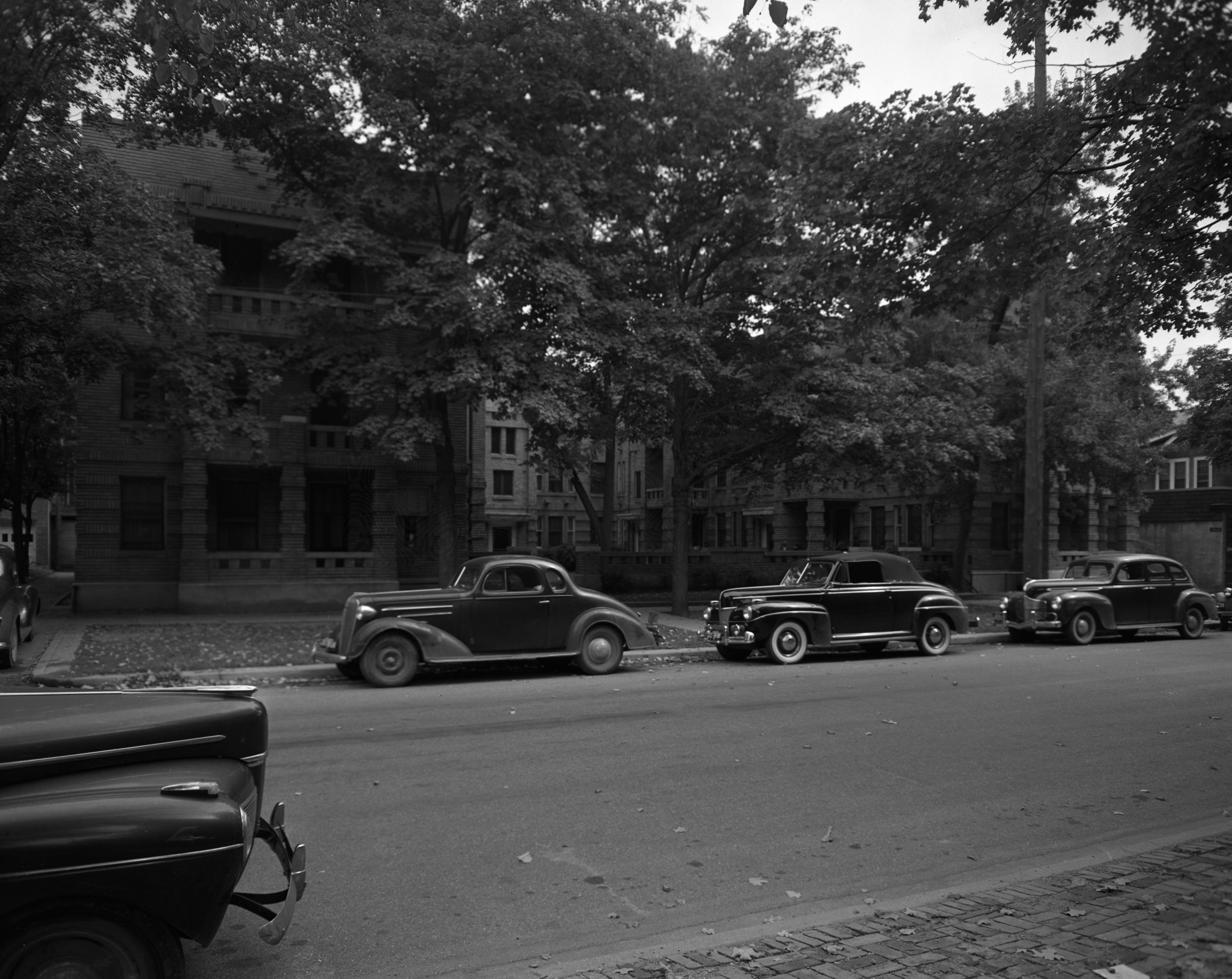 Anberay Apartments on E. University Avenue are sold, September 1942 image
