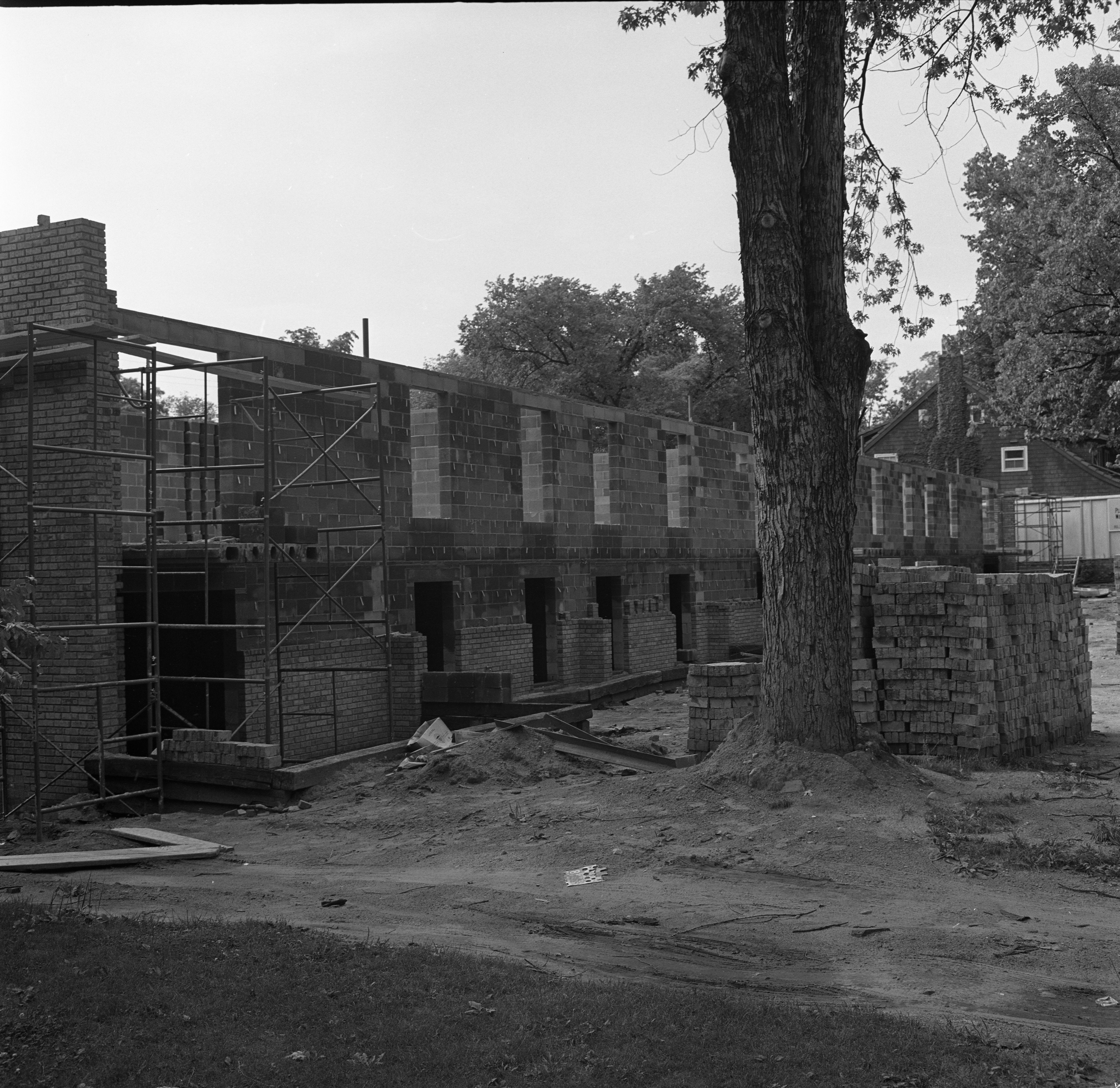 Forest Post Apartment Construction, July 19, 1966 image