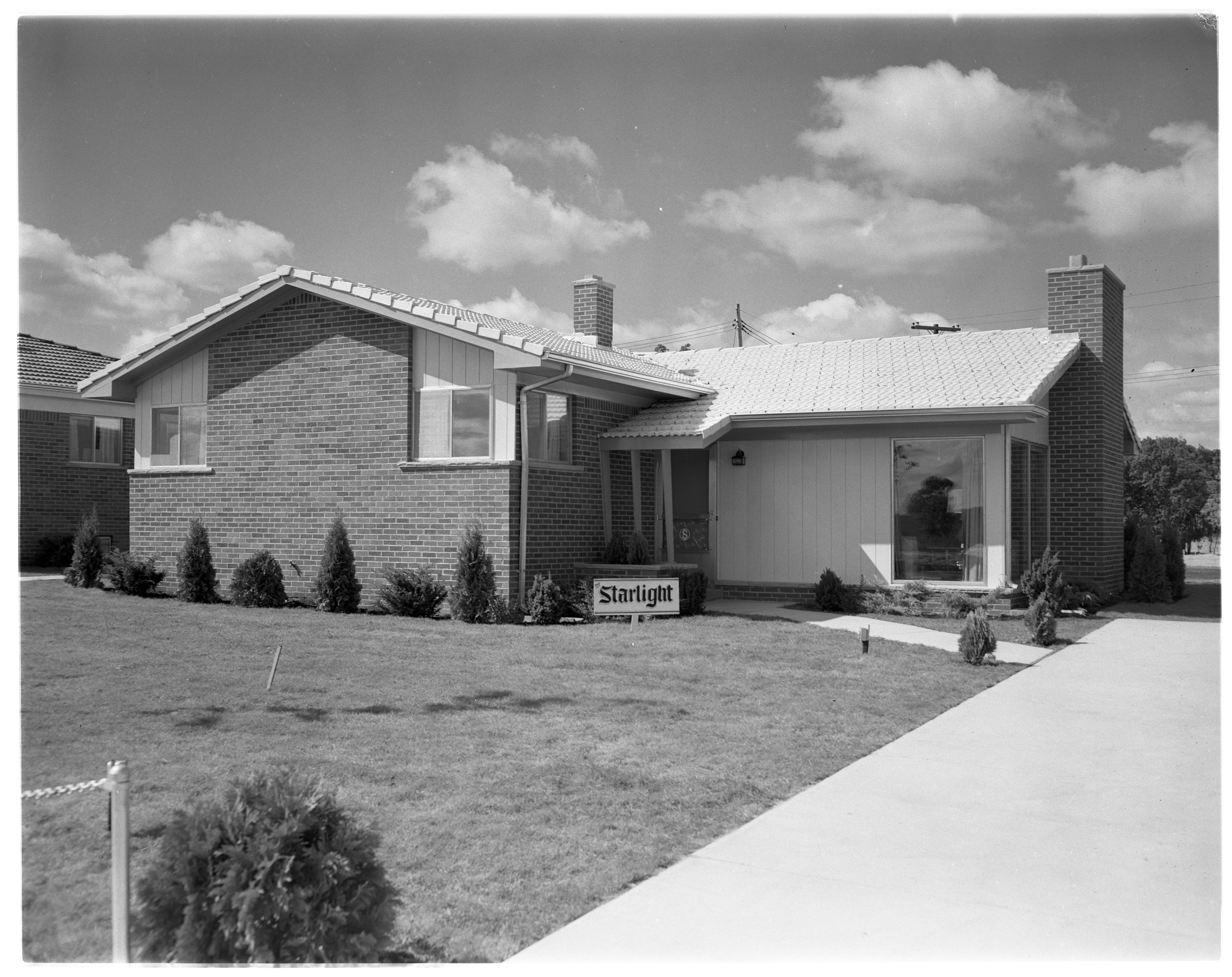 "Ann Arbor Woods ""Starlight"" Model Home, September 1956 image"
