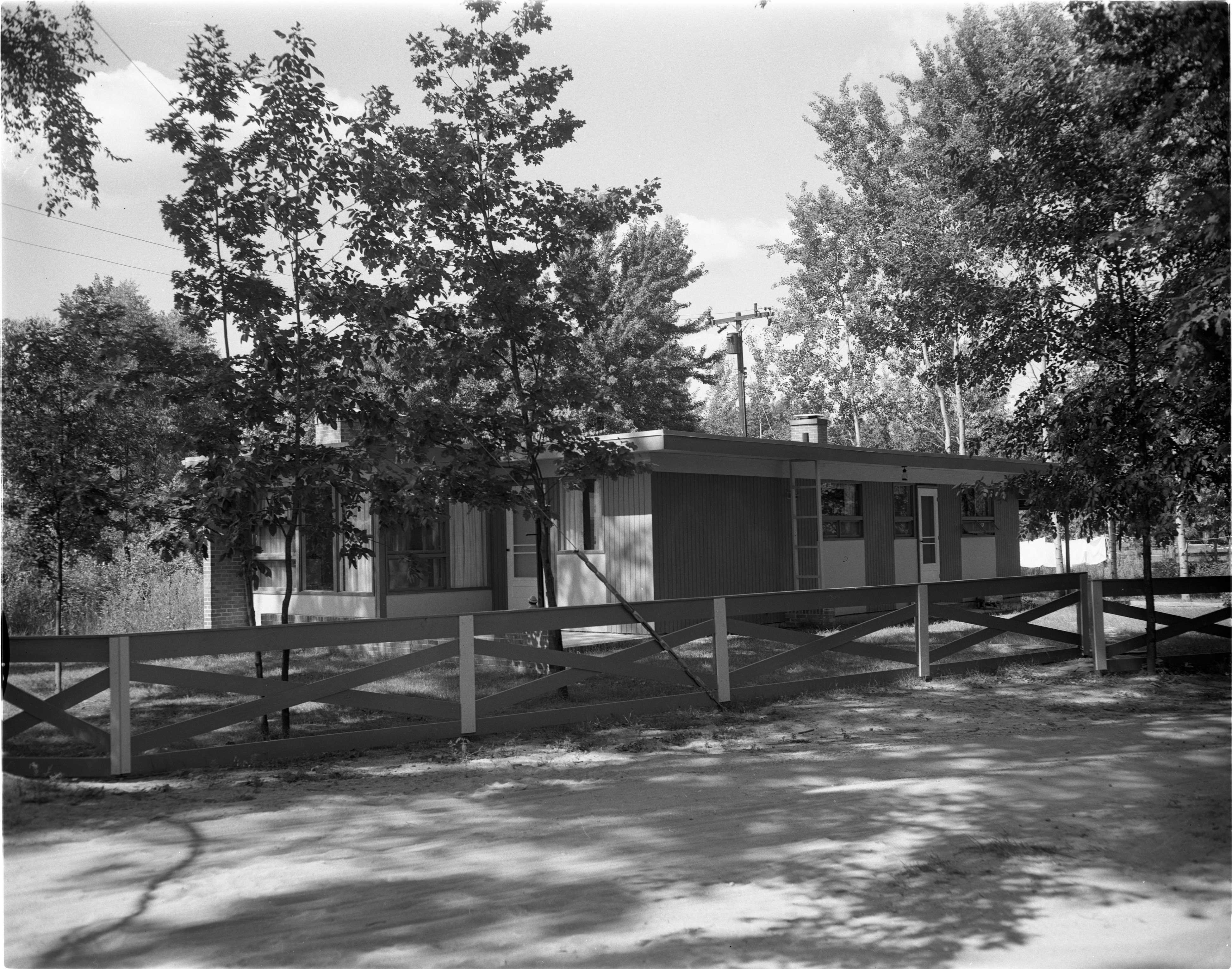 House In Deimen-Stull Subdivision On Bunny Lake, August 1957 image
