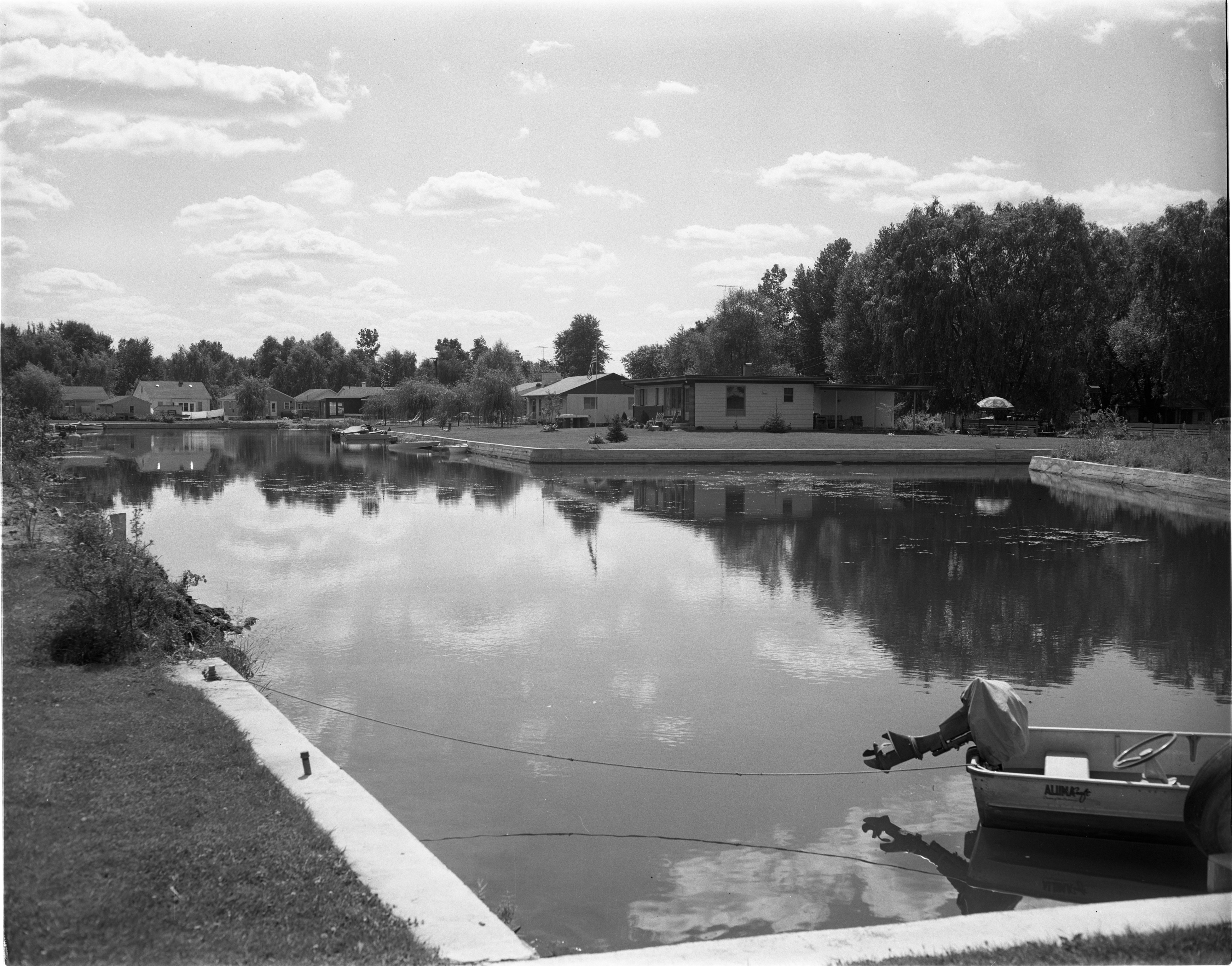 Deimen-Stull Subdivision and Bunny Lake, August 1957 image