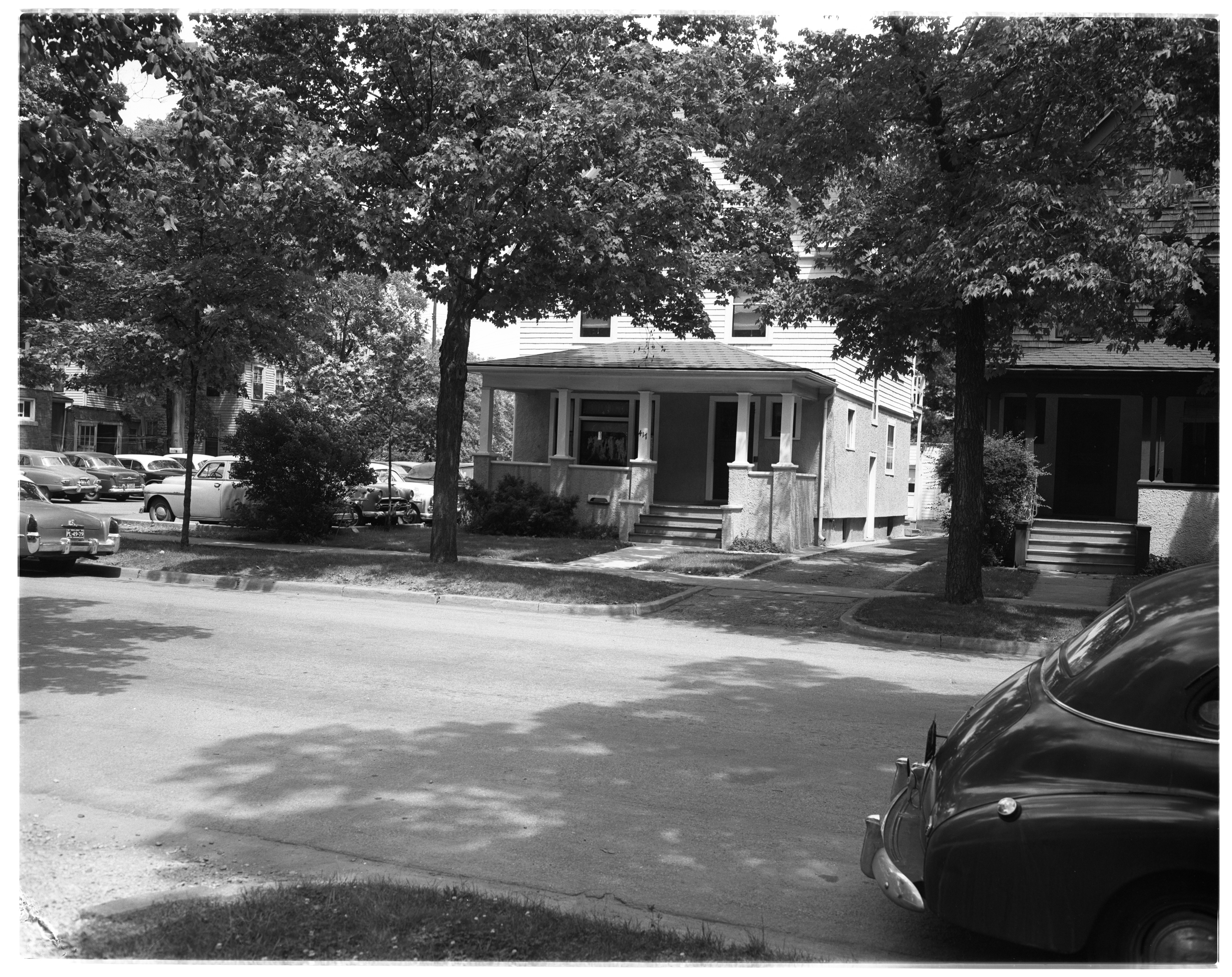 House at 417 Thompson St. on Property Sought by U-M, June 1955 image
