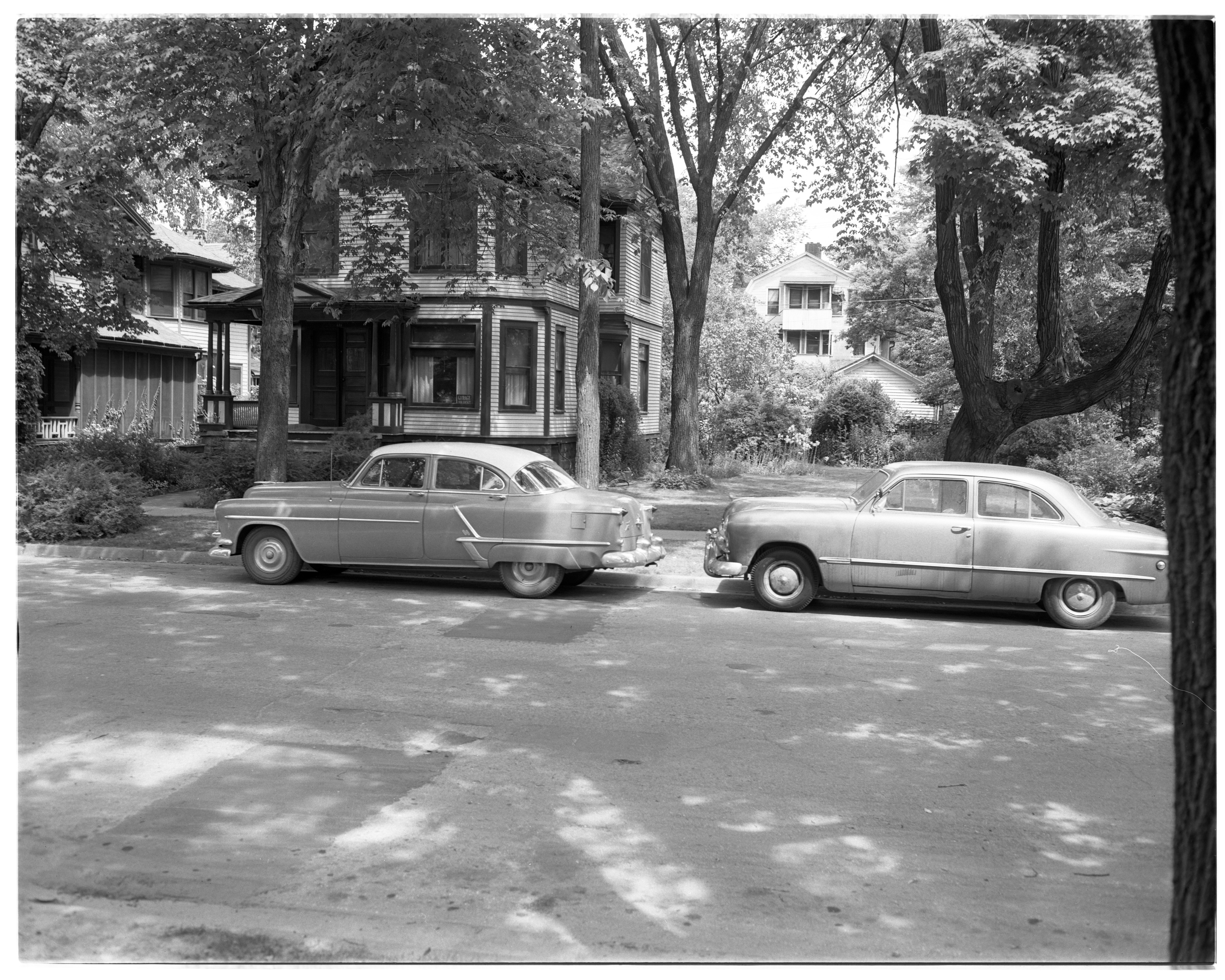 House at 431 Thompson St. on Property Sought by U-M, June 1955 image