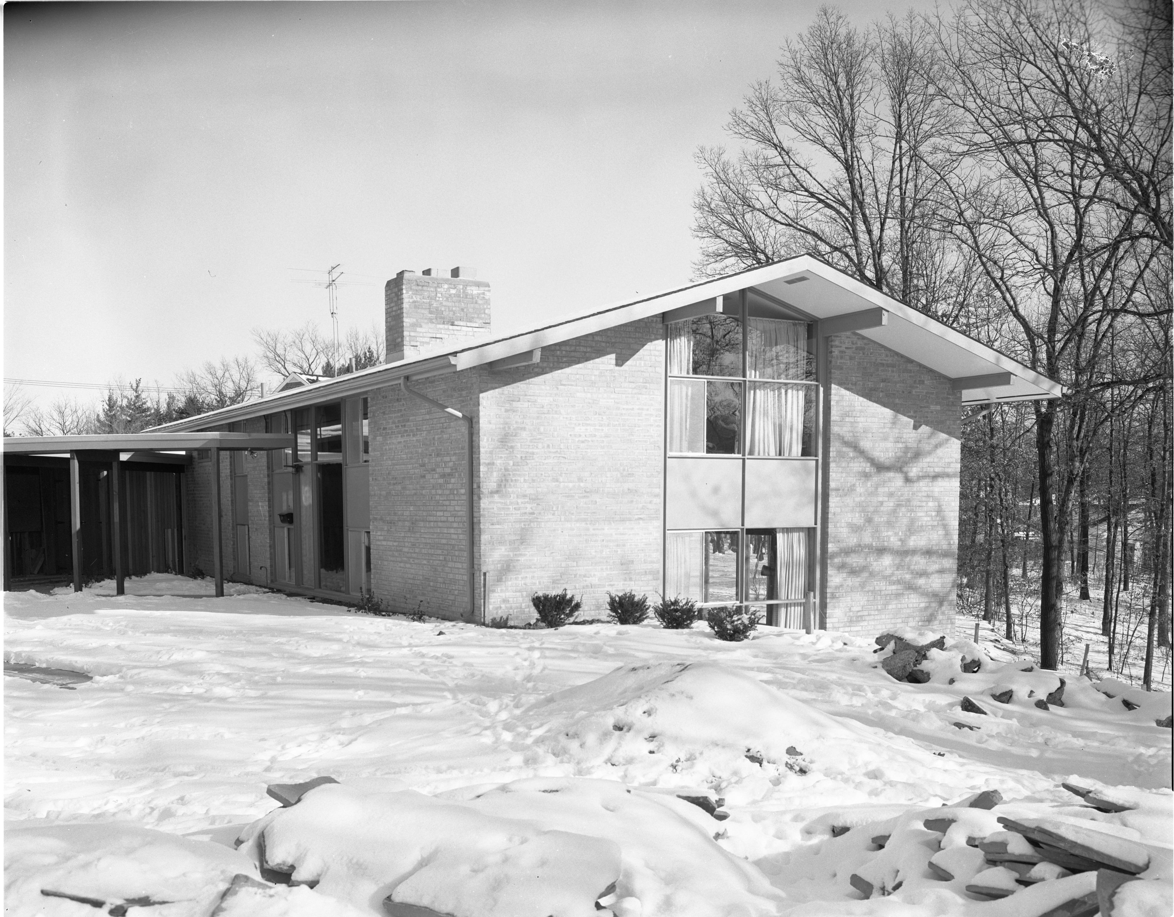 16 Heatheridge - Exterior, January 1956 image