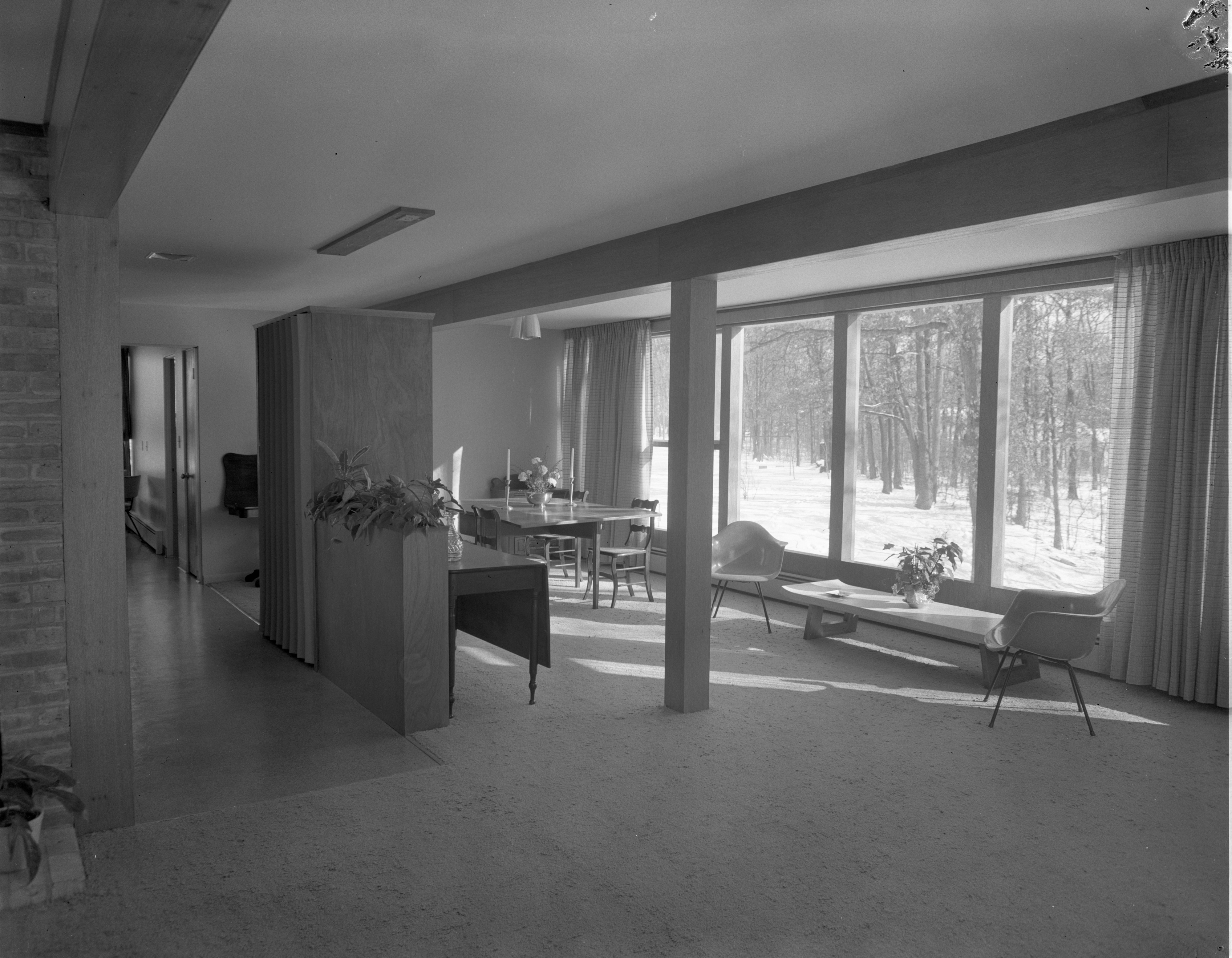 Living-Dining Room - 16 Heatheridge, January 1956 image