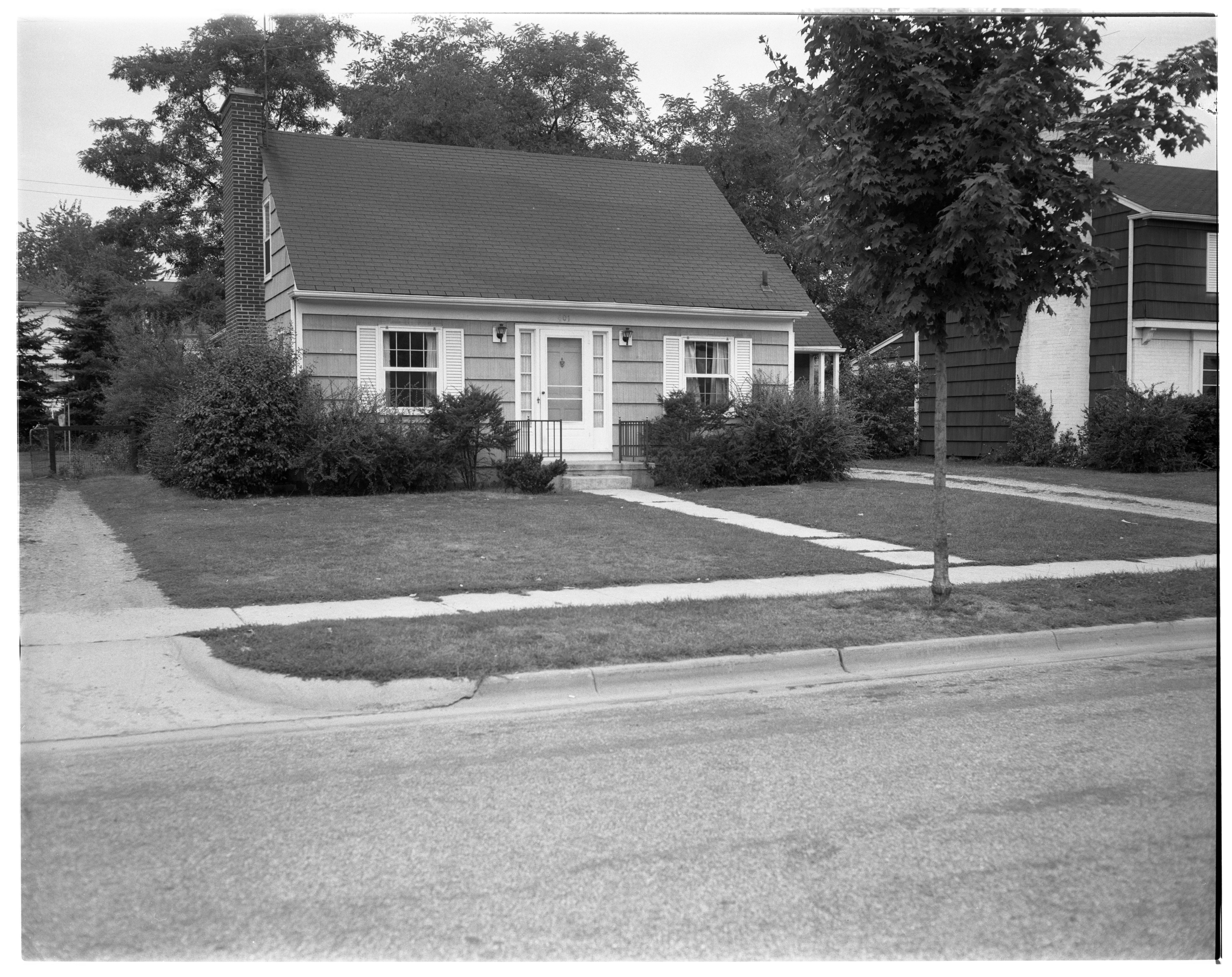Model Home in Forestbrooke Subdivision, September 1960 image