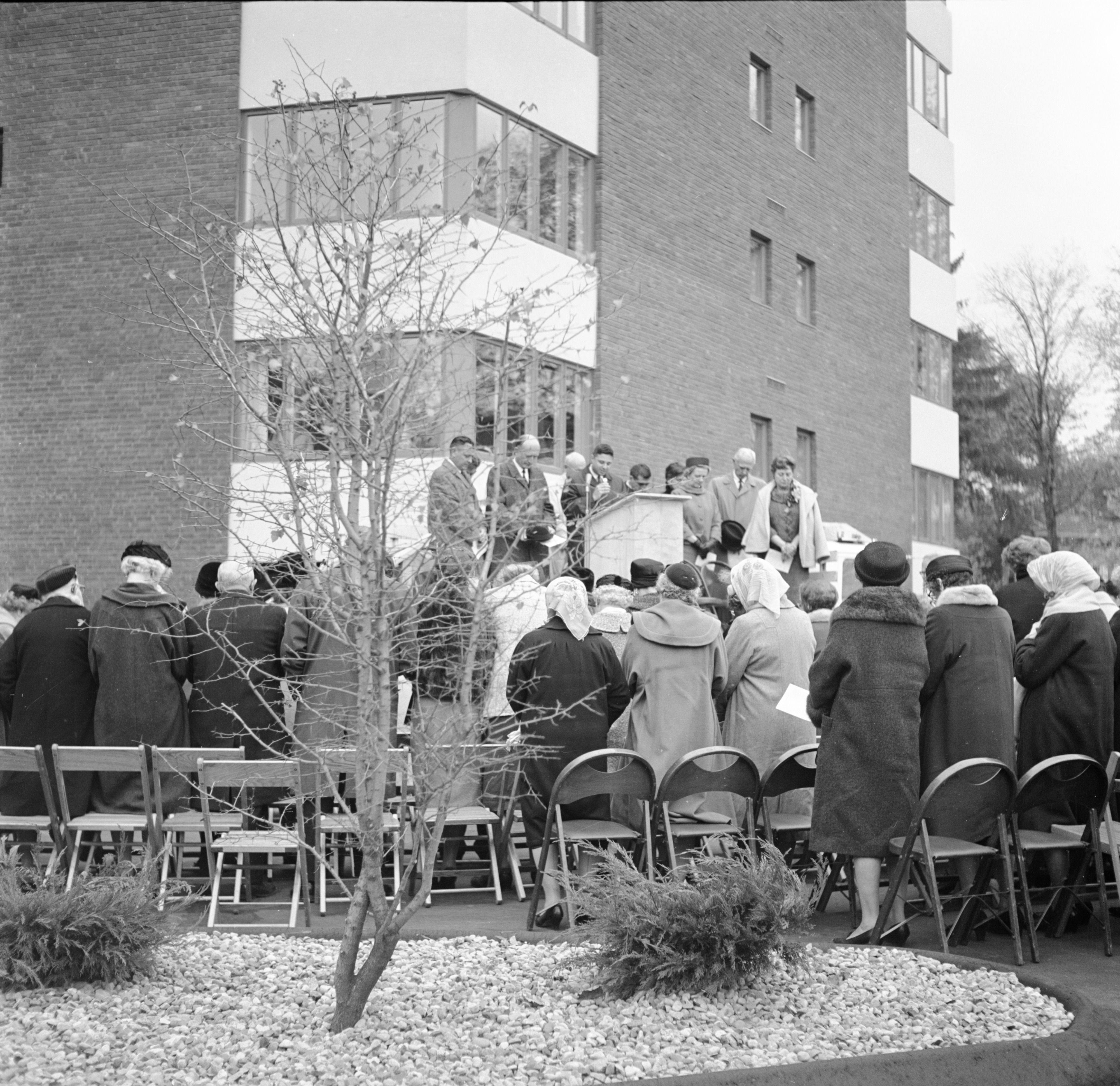 Invocation At Dedication of Lurie Terrace, October 1964 image