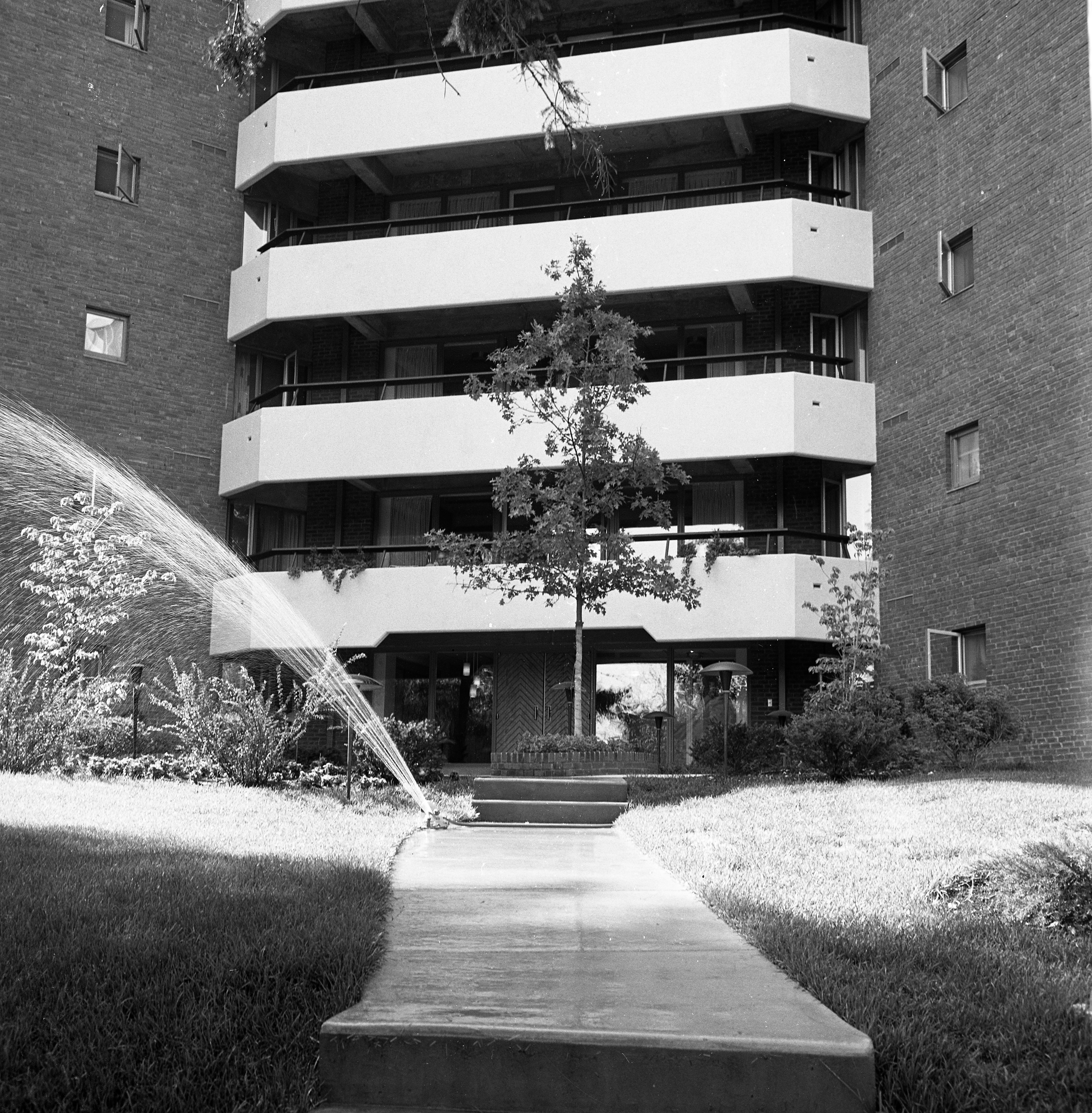 Entrance To Lurie Terrace, July 1965 image