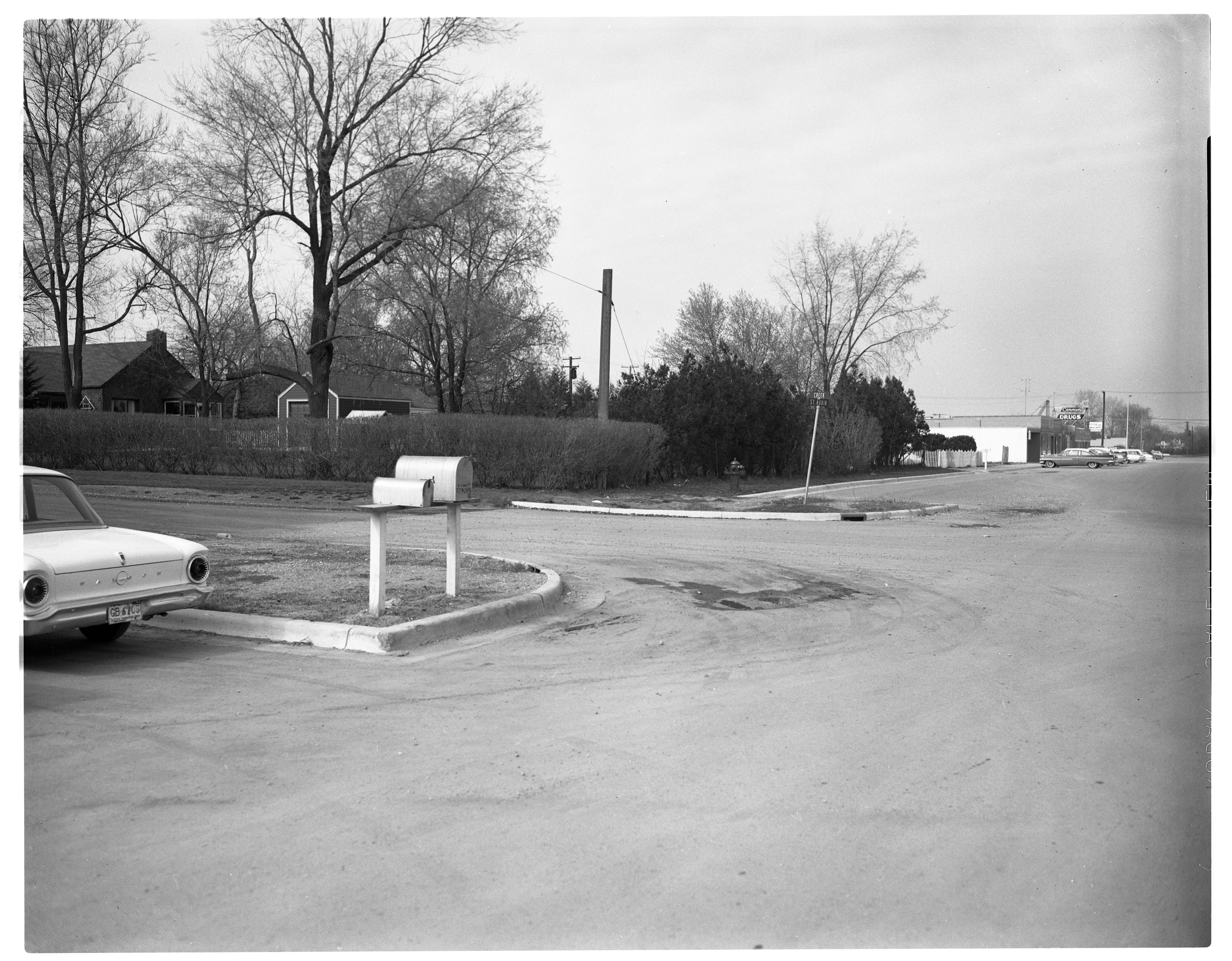 Future Ann Arbor Public Library Branch Library Site, April 1963 image