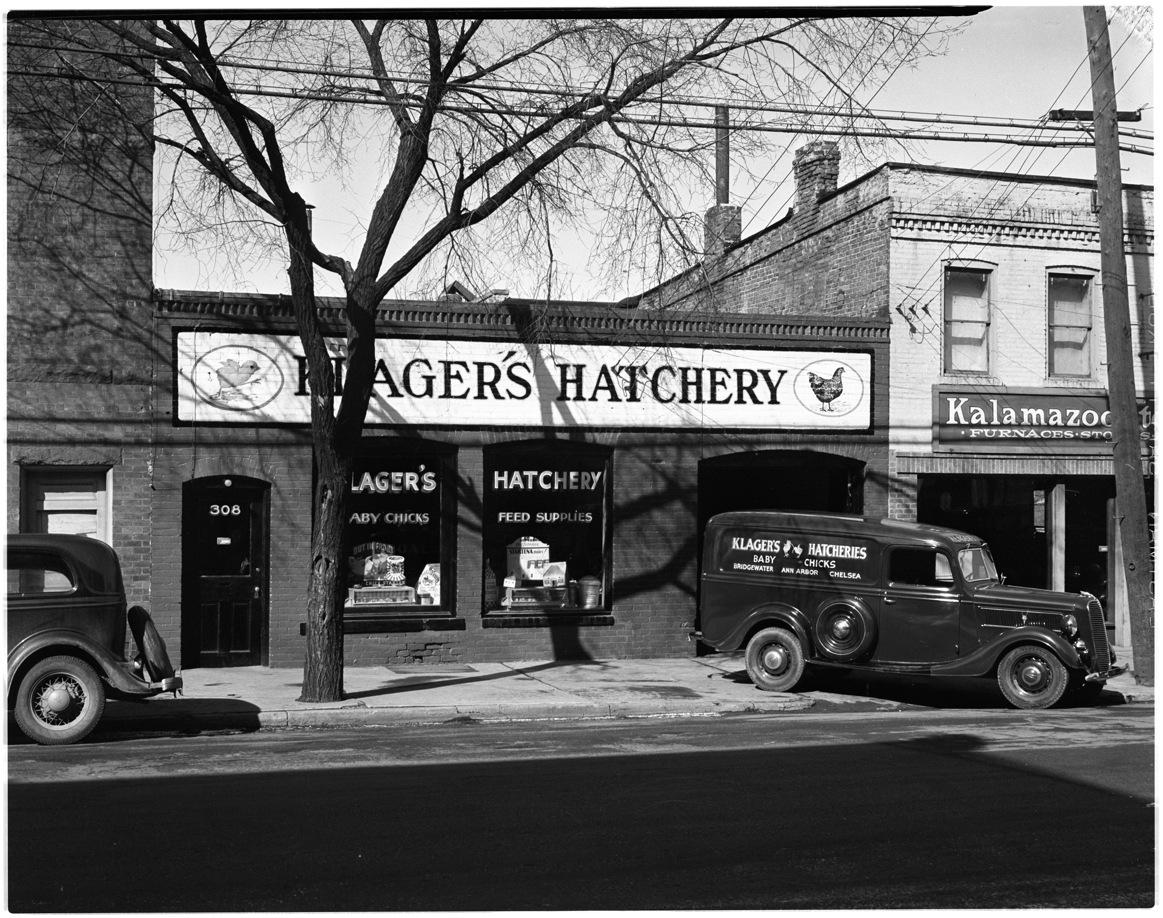 Klager's Hatchery, March 1937 image