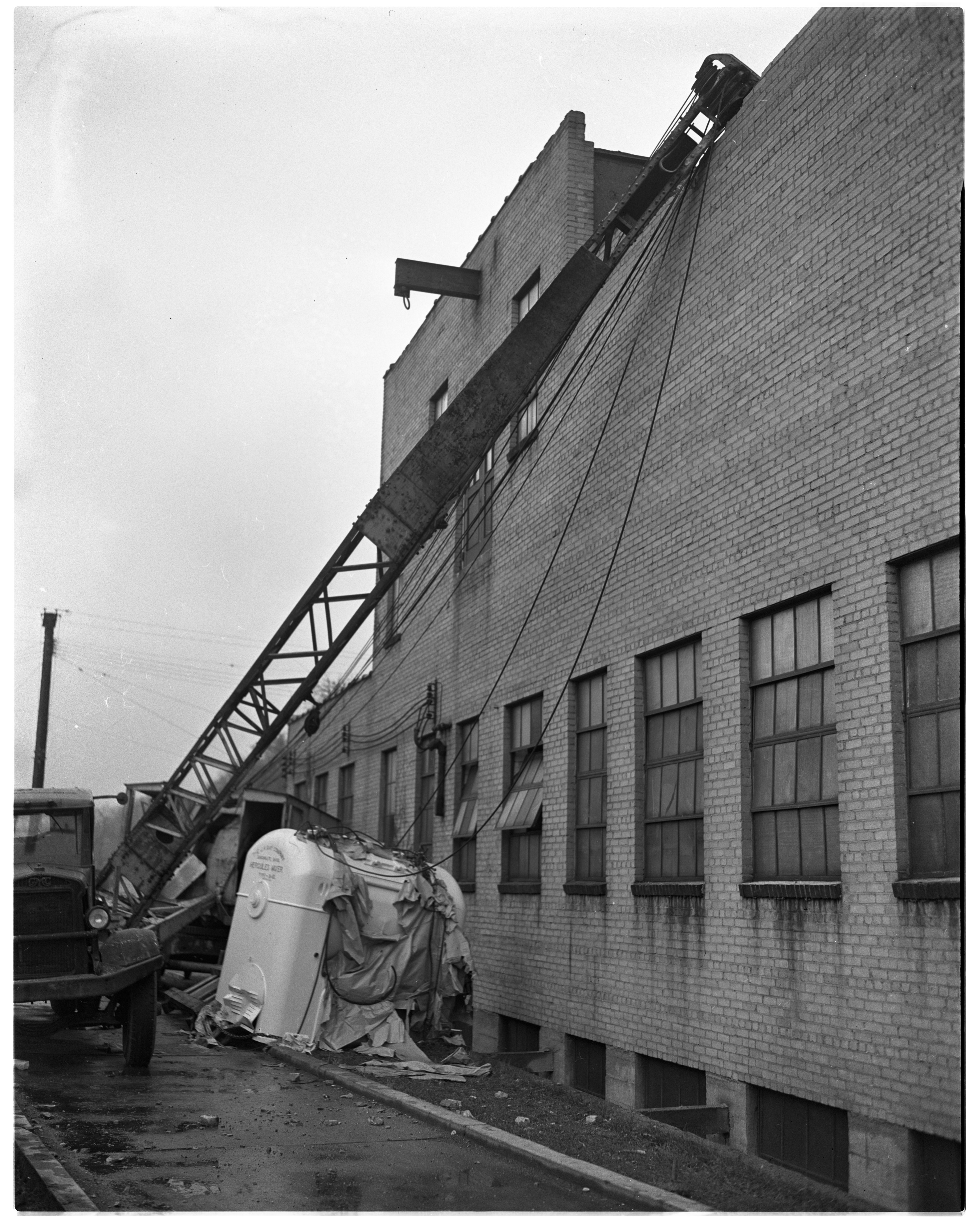 Gauss Baking Company's New Mixer Crashes, May 1944 image