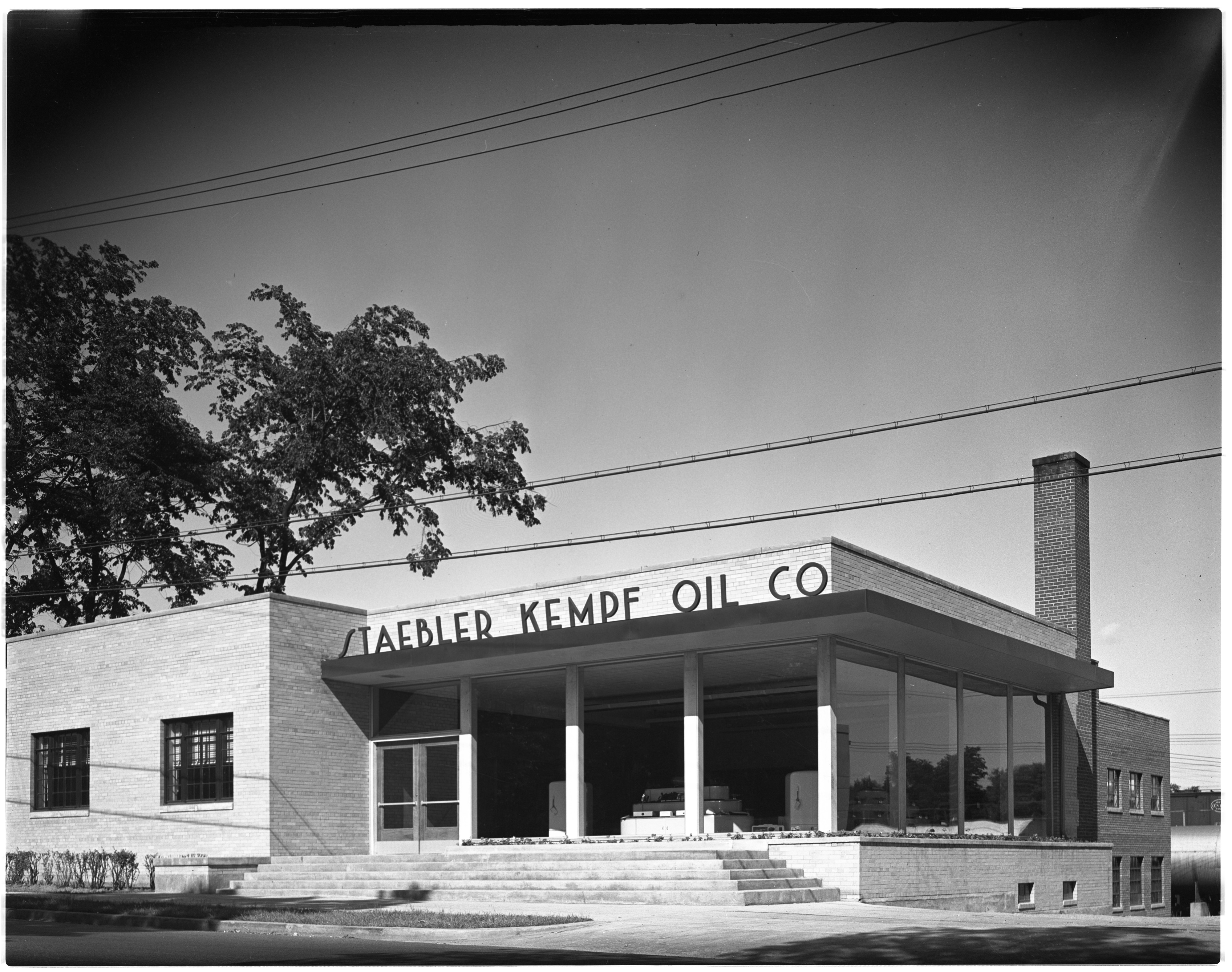 Newly Opened Showroom of Staebler Kempf Oil Company Office & Showroom, June, 1946 image