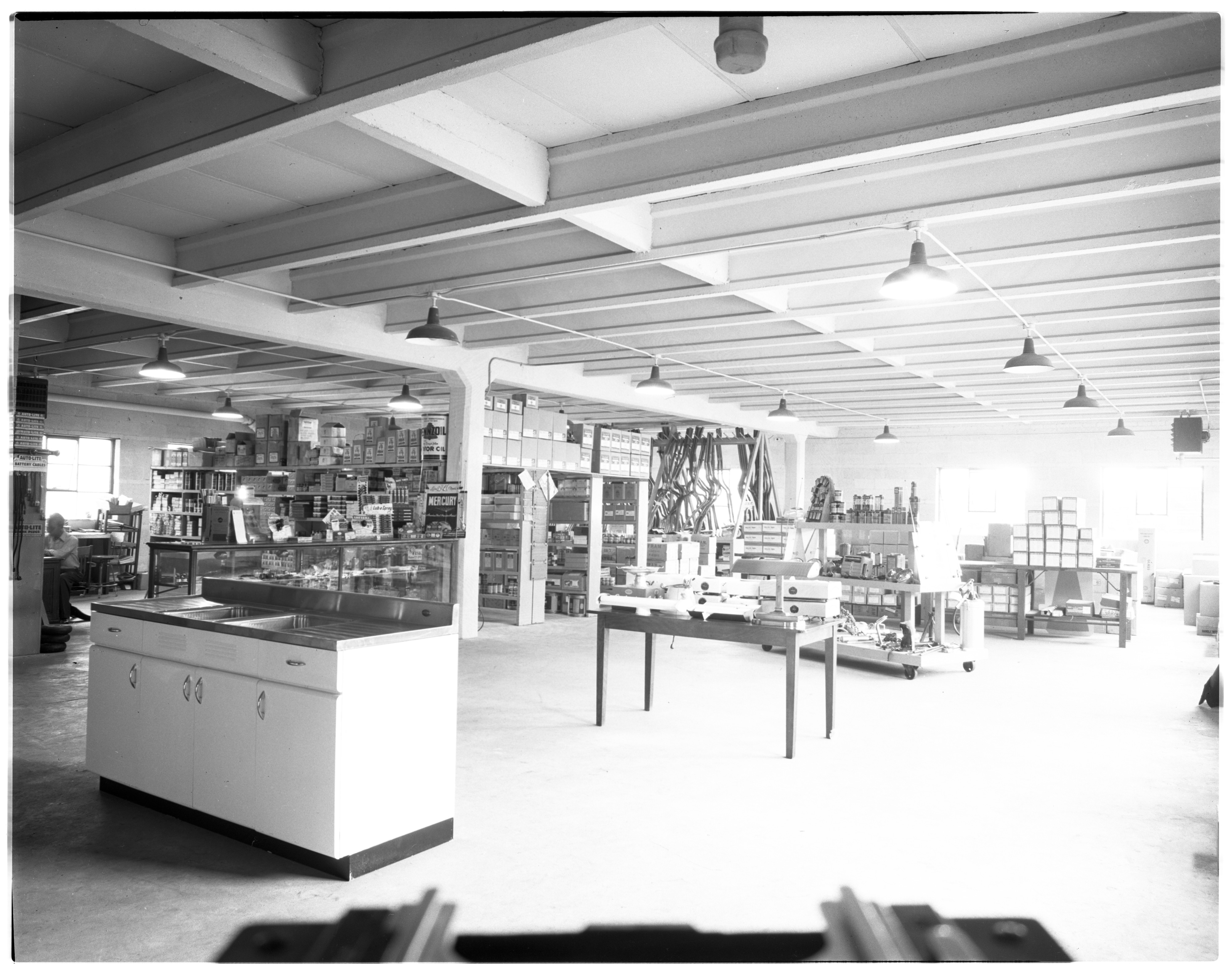Stock Area in Staebler-Kempf's New Headquarters at 912 N Main, July 1946 image