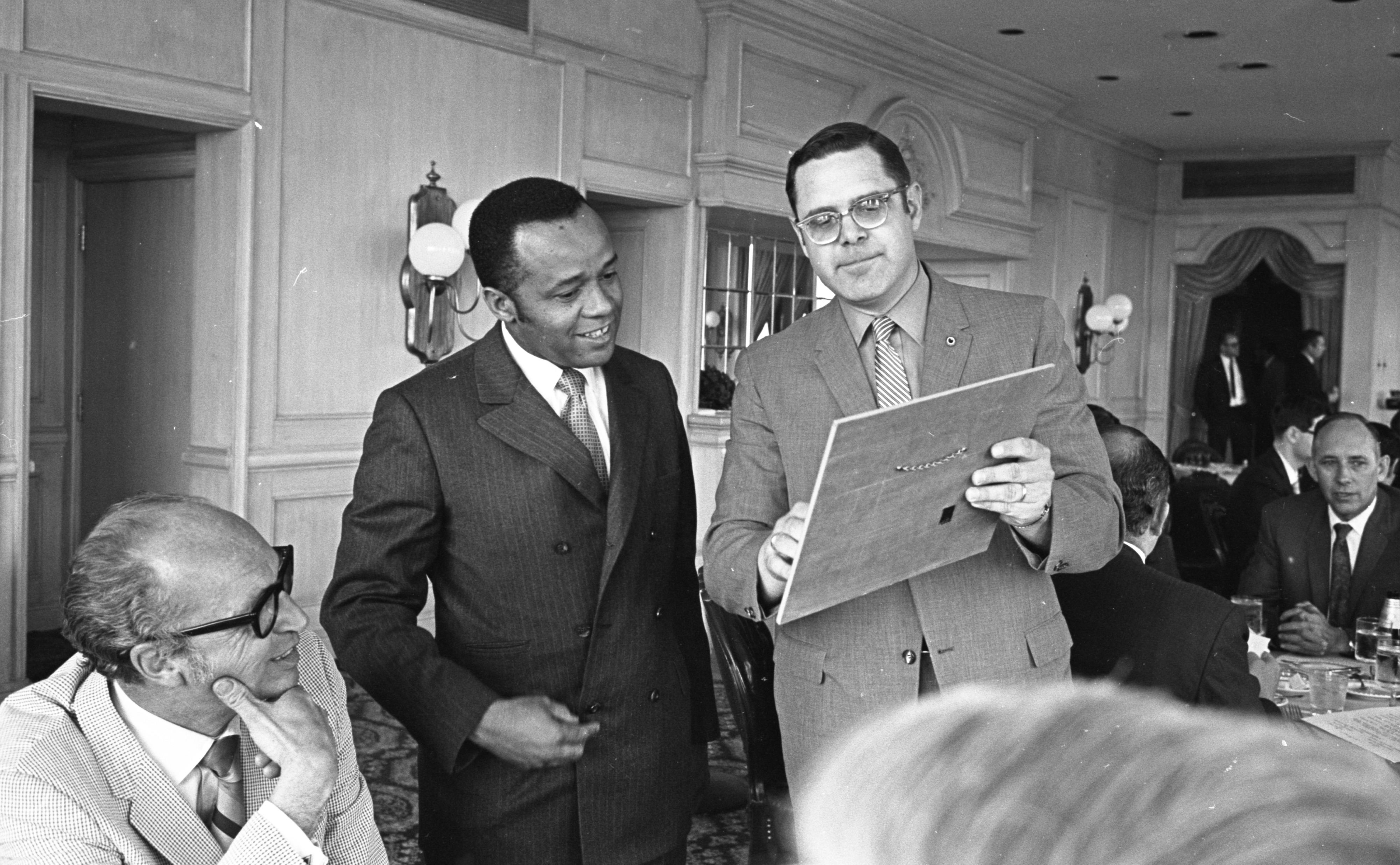 David Byrd Receives The Ann Arbor Board Of Realtors Directors' Citation Of Merit, May 1970 image
