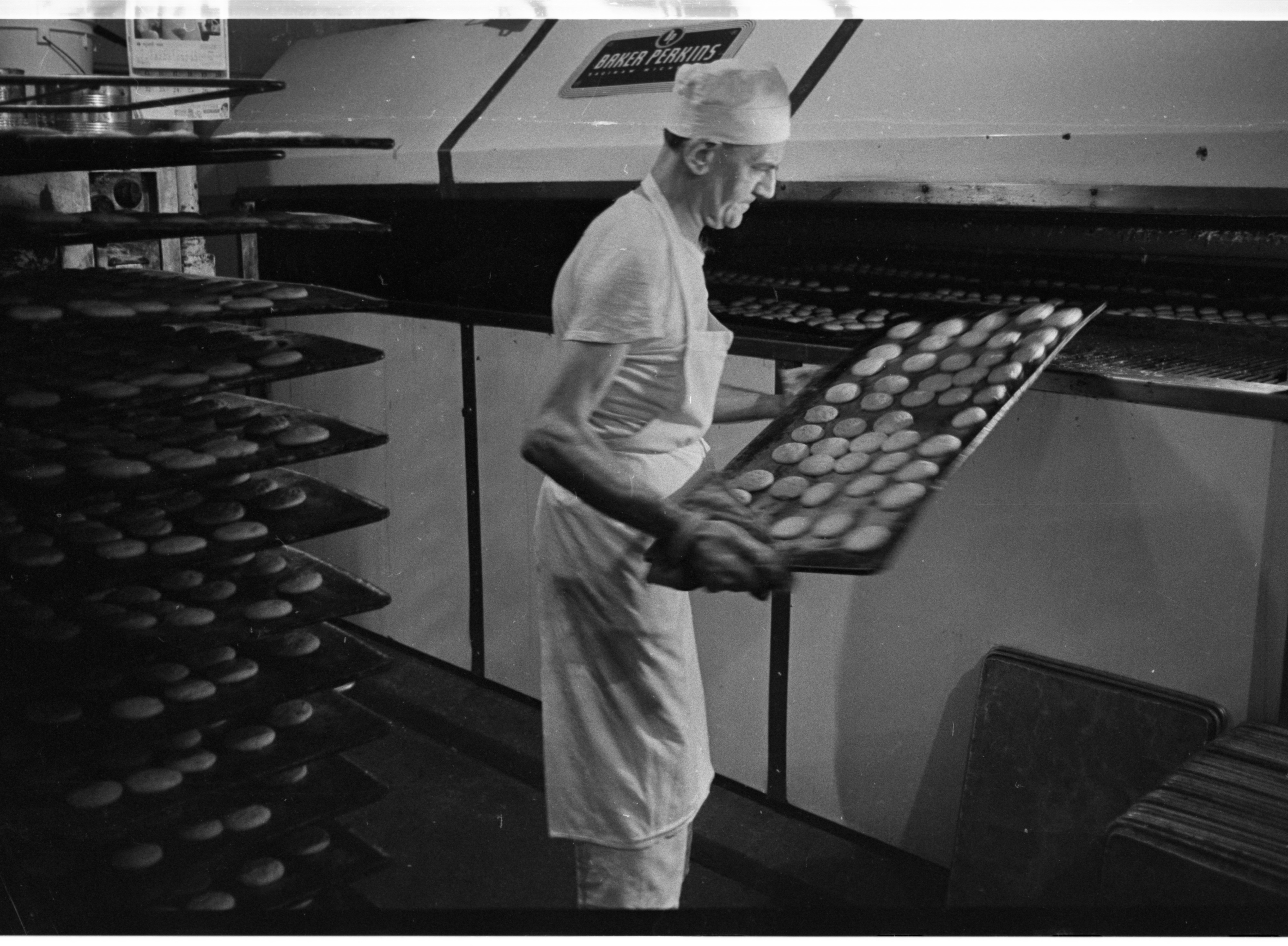 Into the Ovens at Quality Bakery, April 1974 image