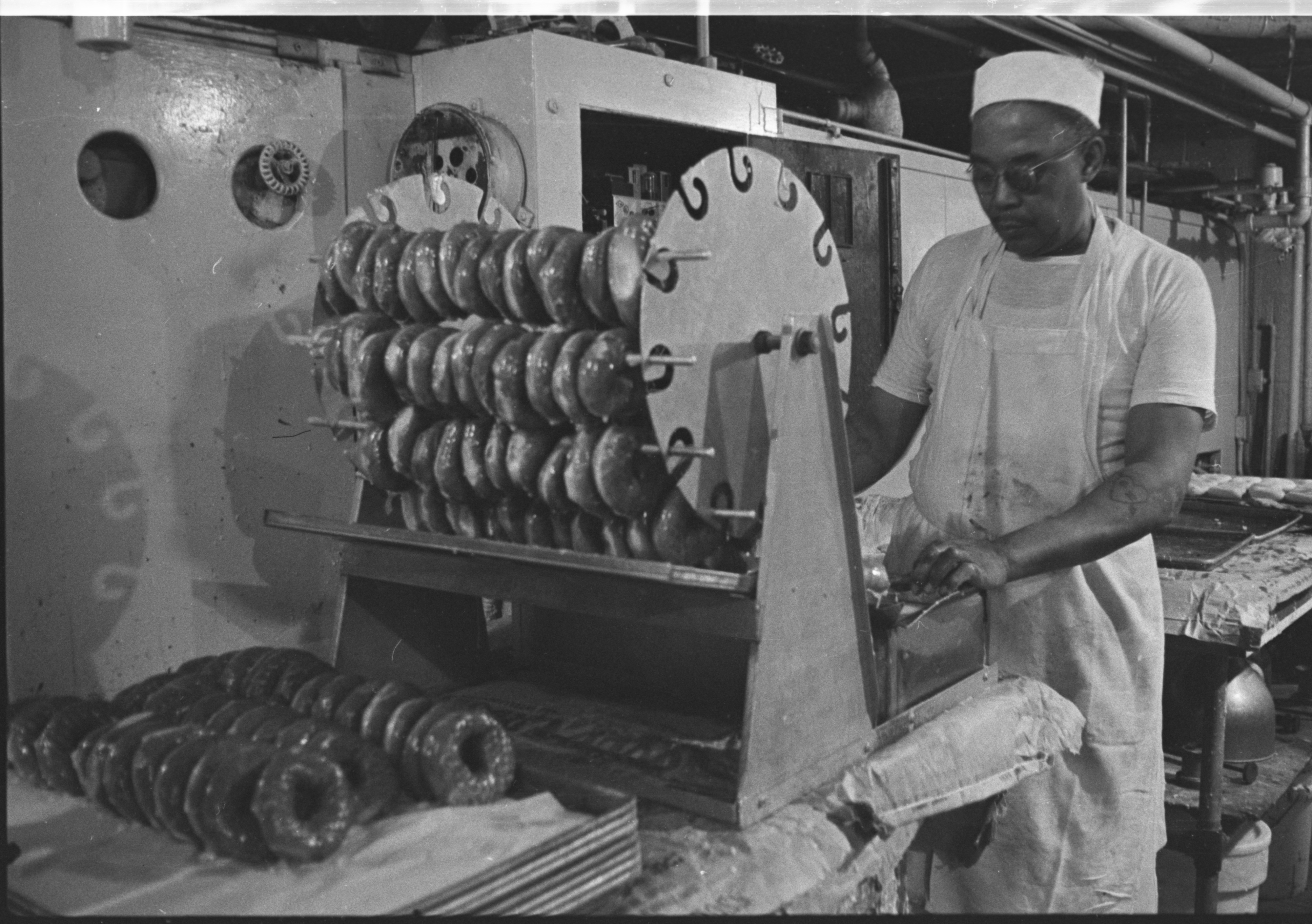 Time To Make the Doughnuts at Quality Bakery, April 1974 image