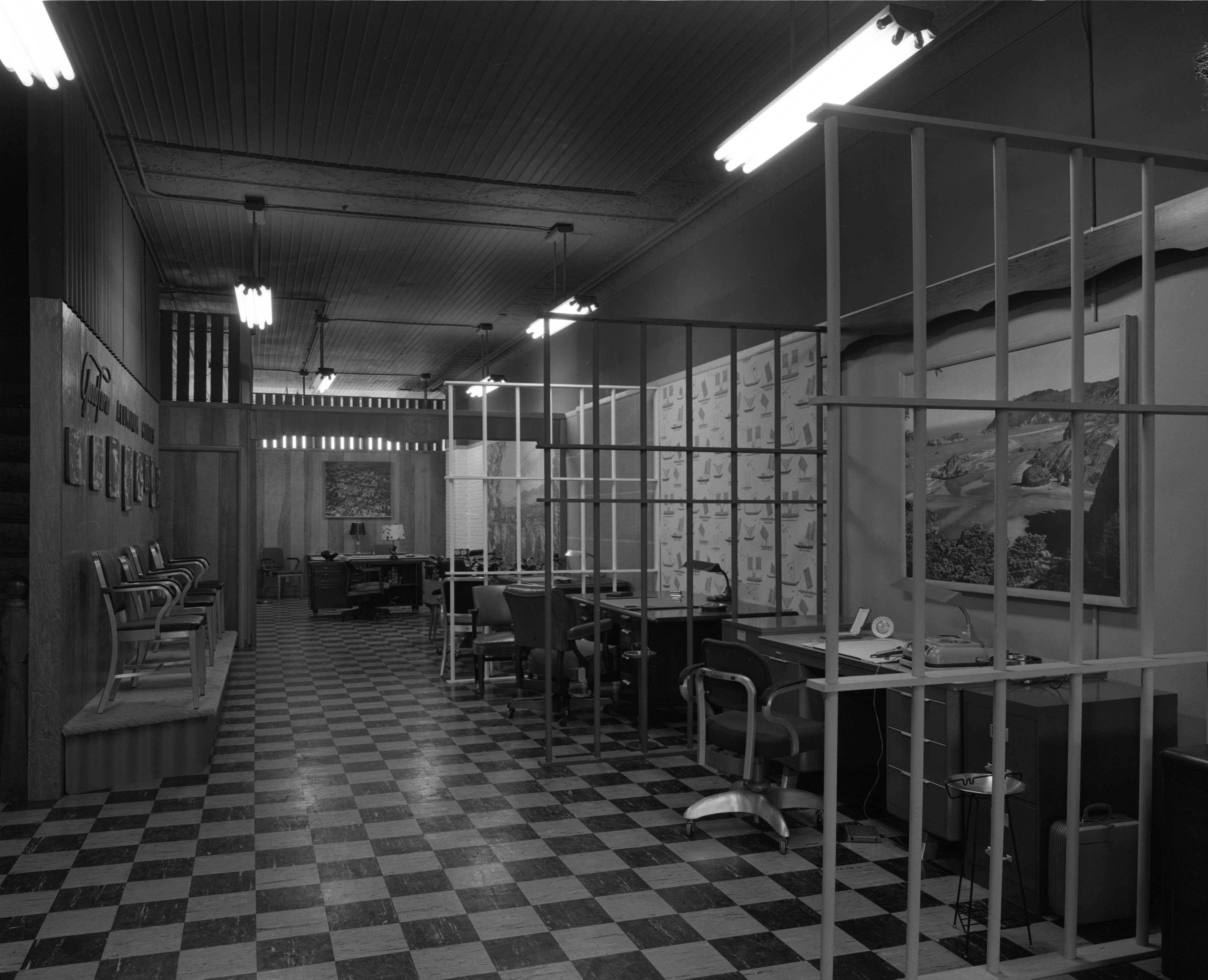 Second Floor Remodel At Mayer-Schairer, March 1958 image