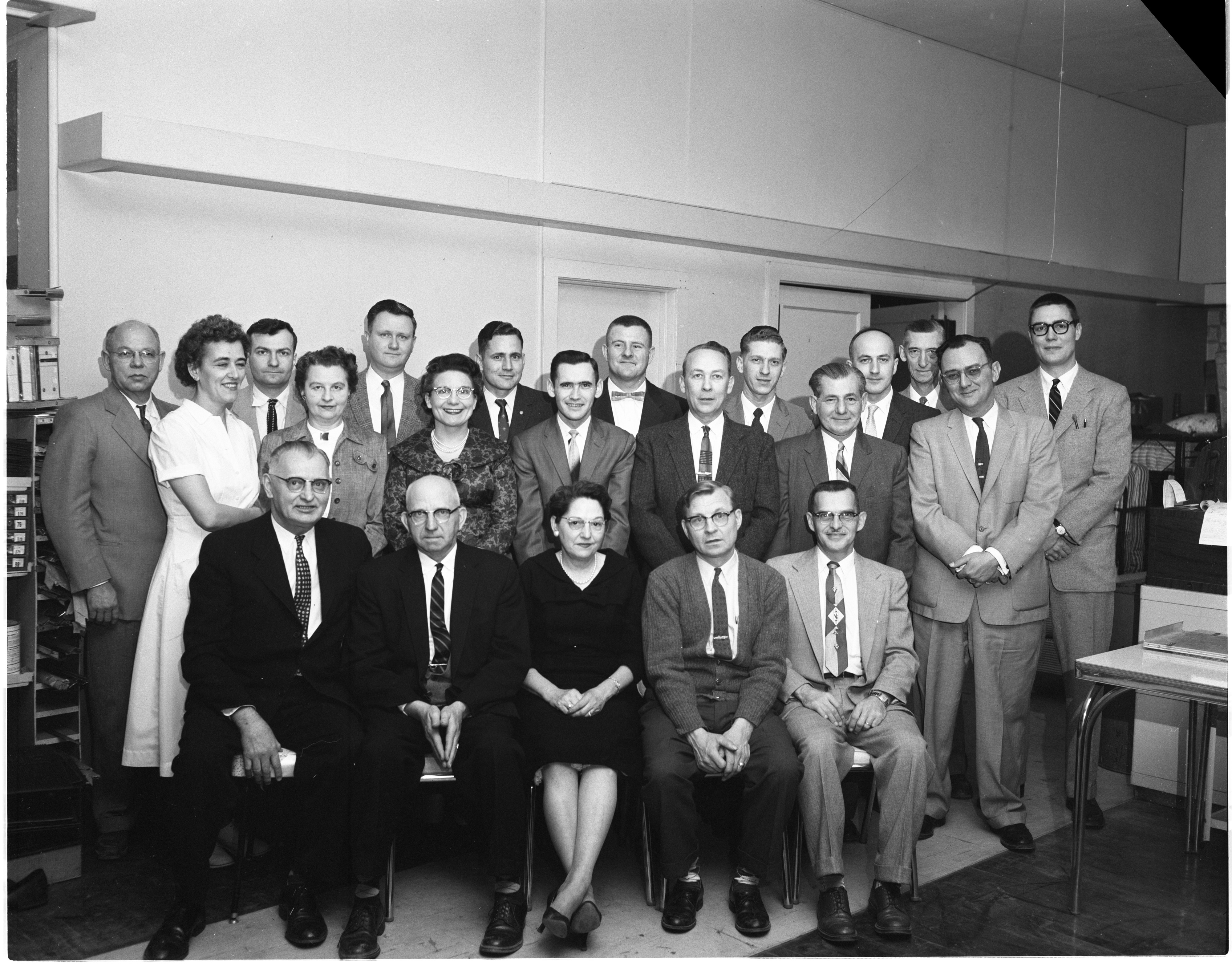 Department Managers Of Ann Arbor Sears Roebuck And Co., January 1959 image