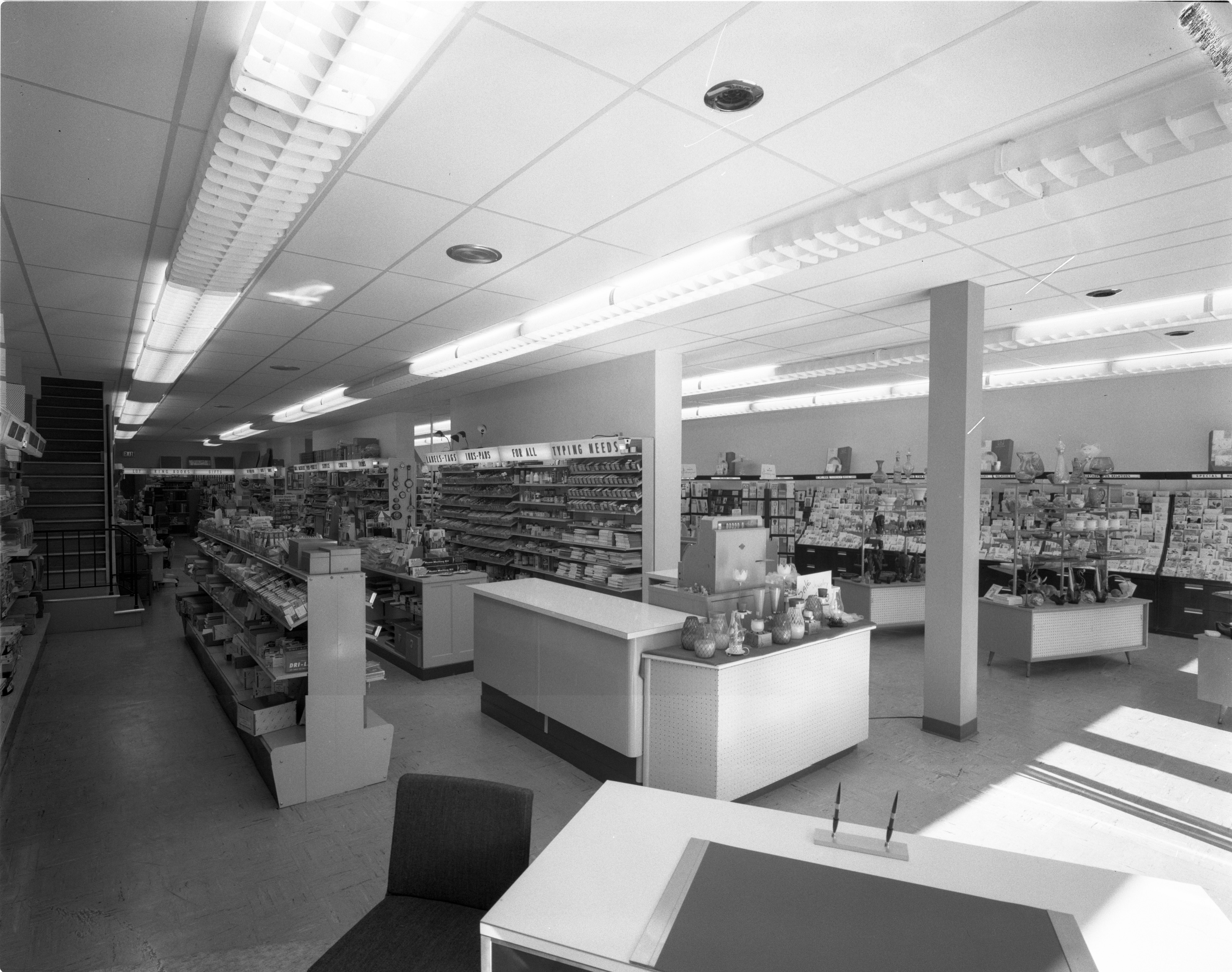 Newly Remodeled Interior Of Mayer-Schairer, August 18, 1962 image