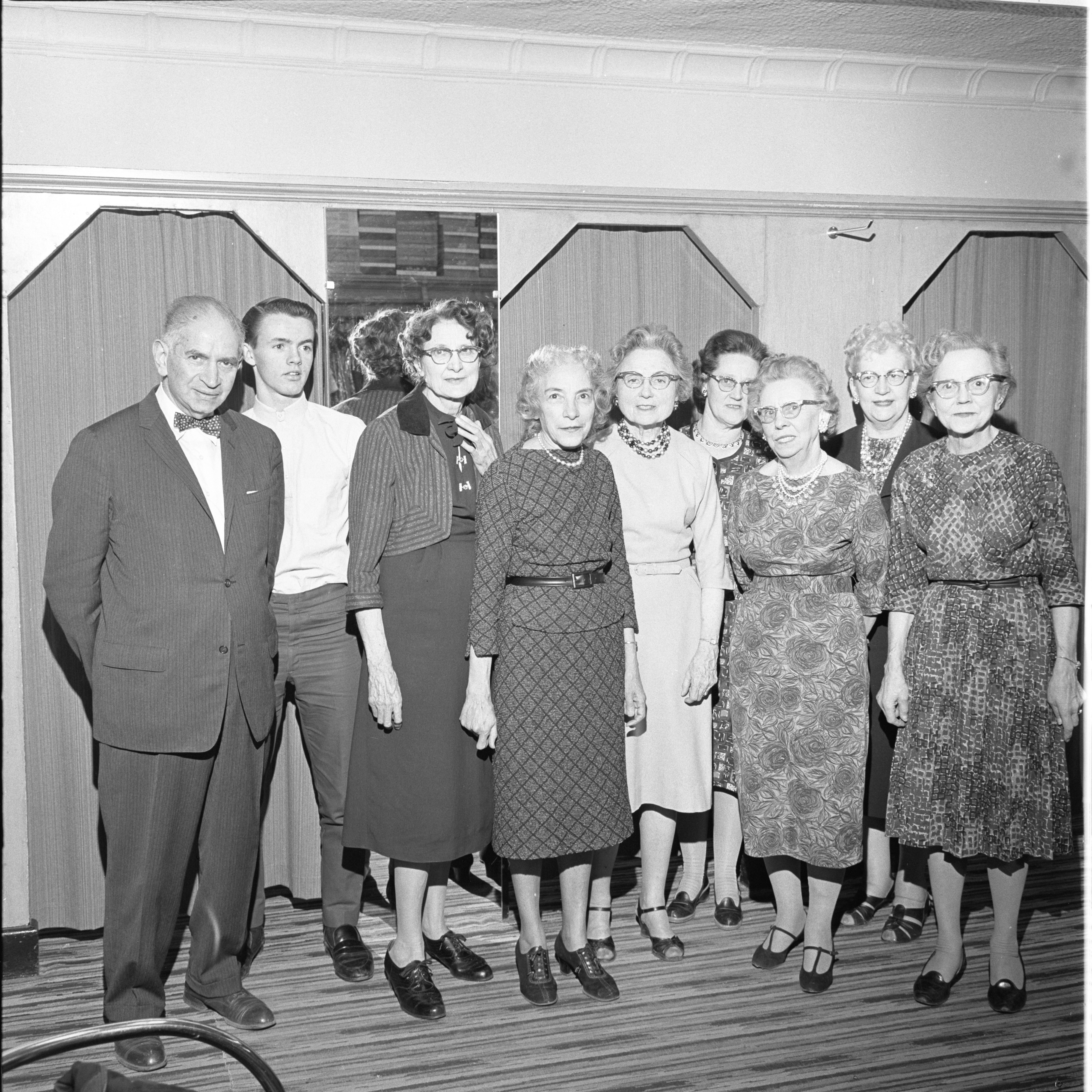 Kessel's Fashion Shop Employees, March 1963 image