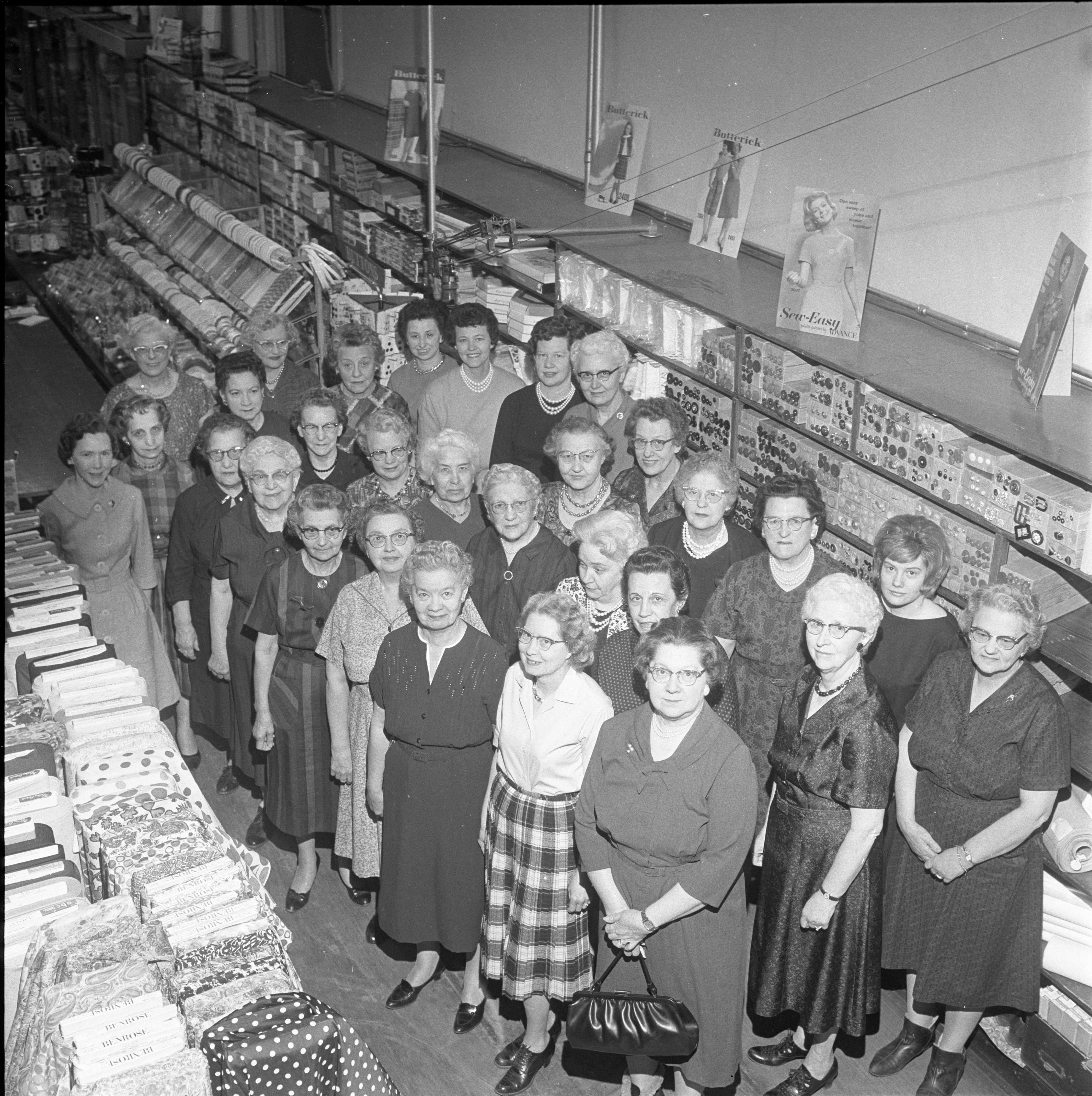 Female Employees Of B. E. Muehlig Inc., March 1963 image