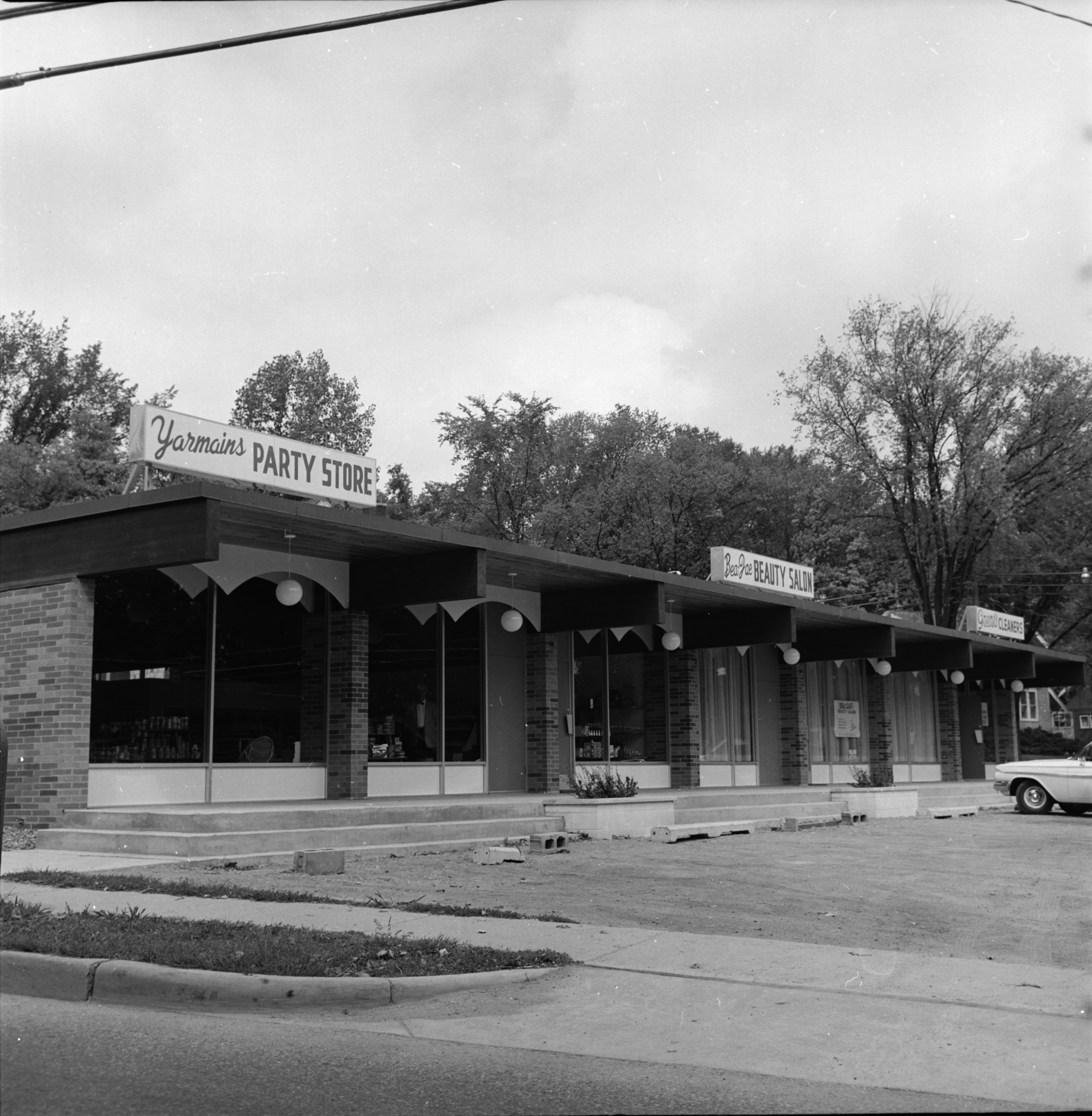 Yarmains Party Store and other stores, September 1963 image