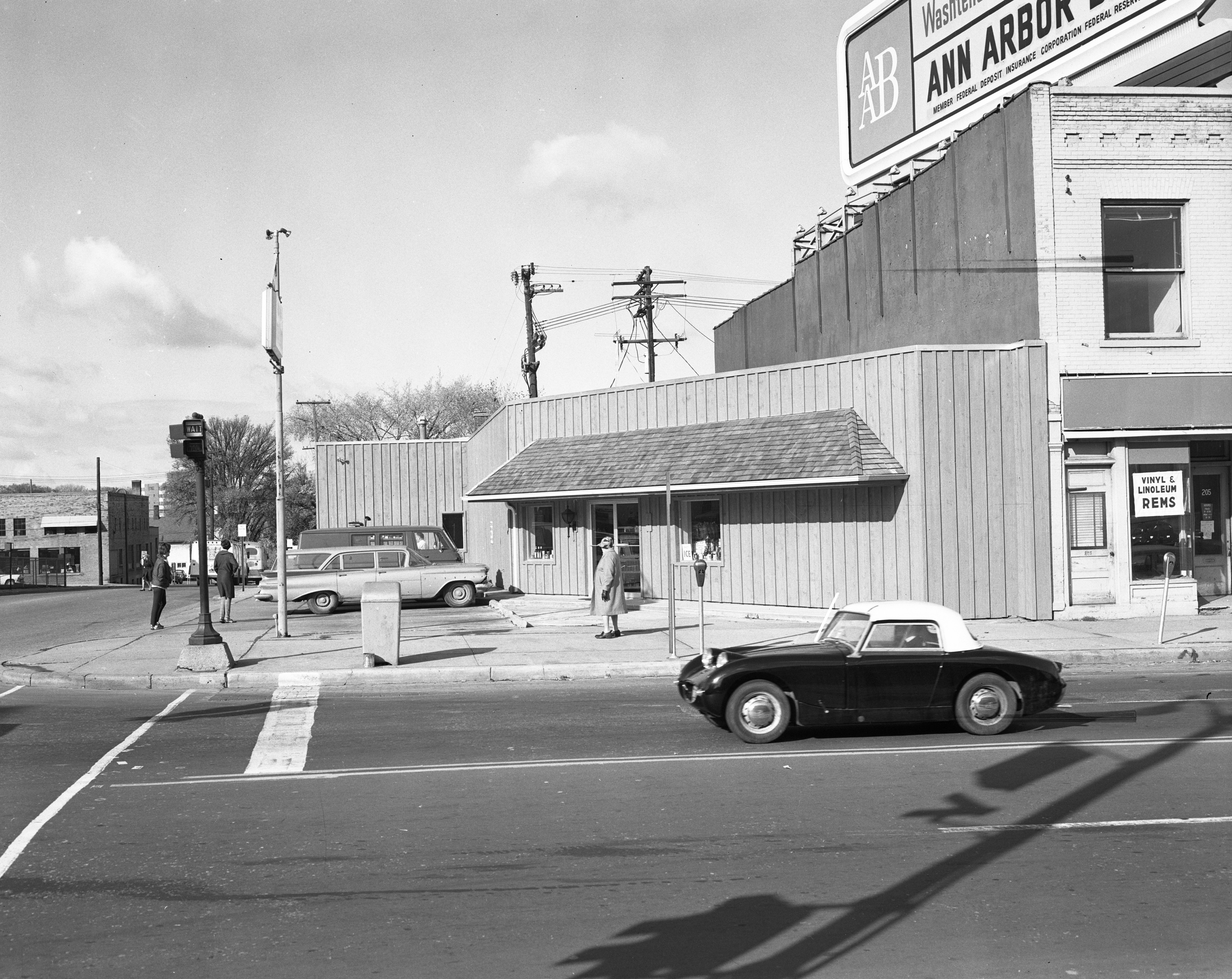 Main Party Store's new building, October 1967 image