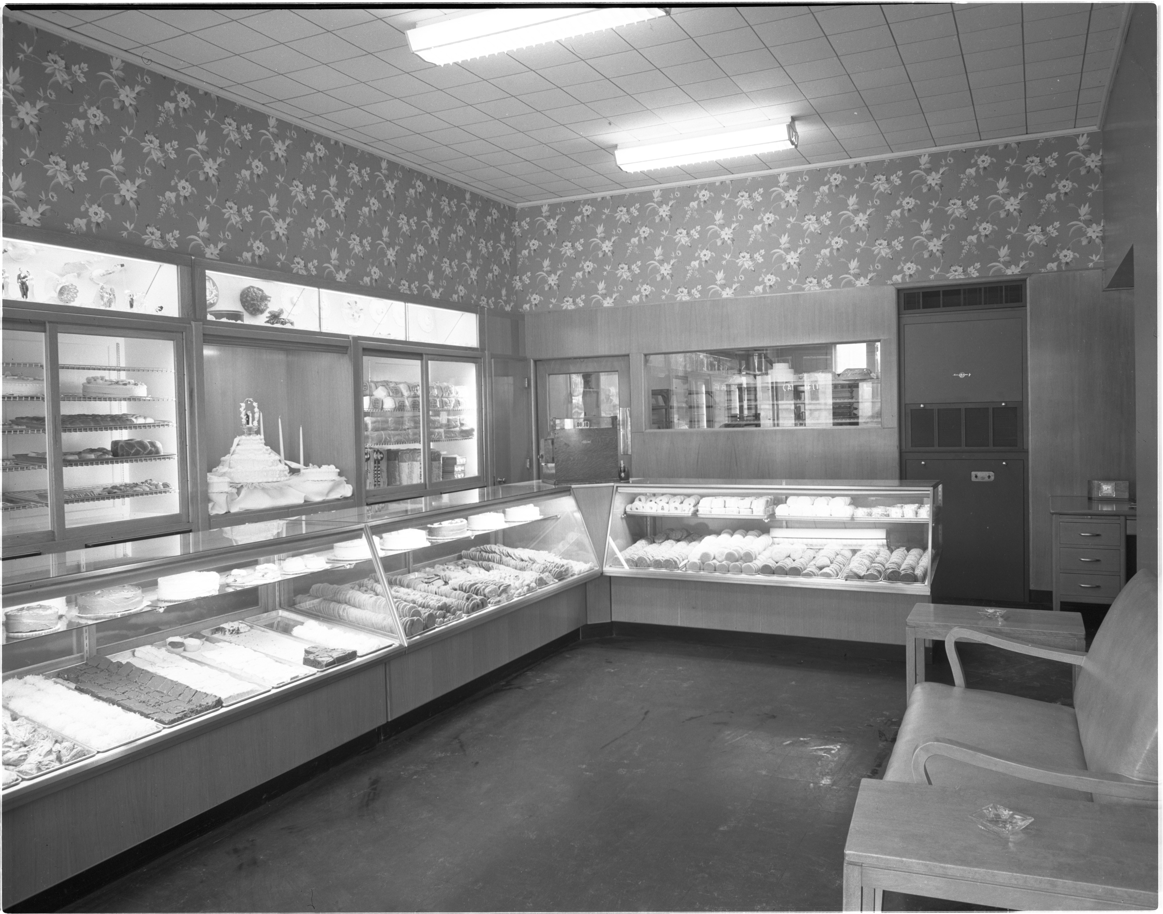 Interior Of Campbell Bakery, January 1948 image