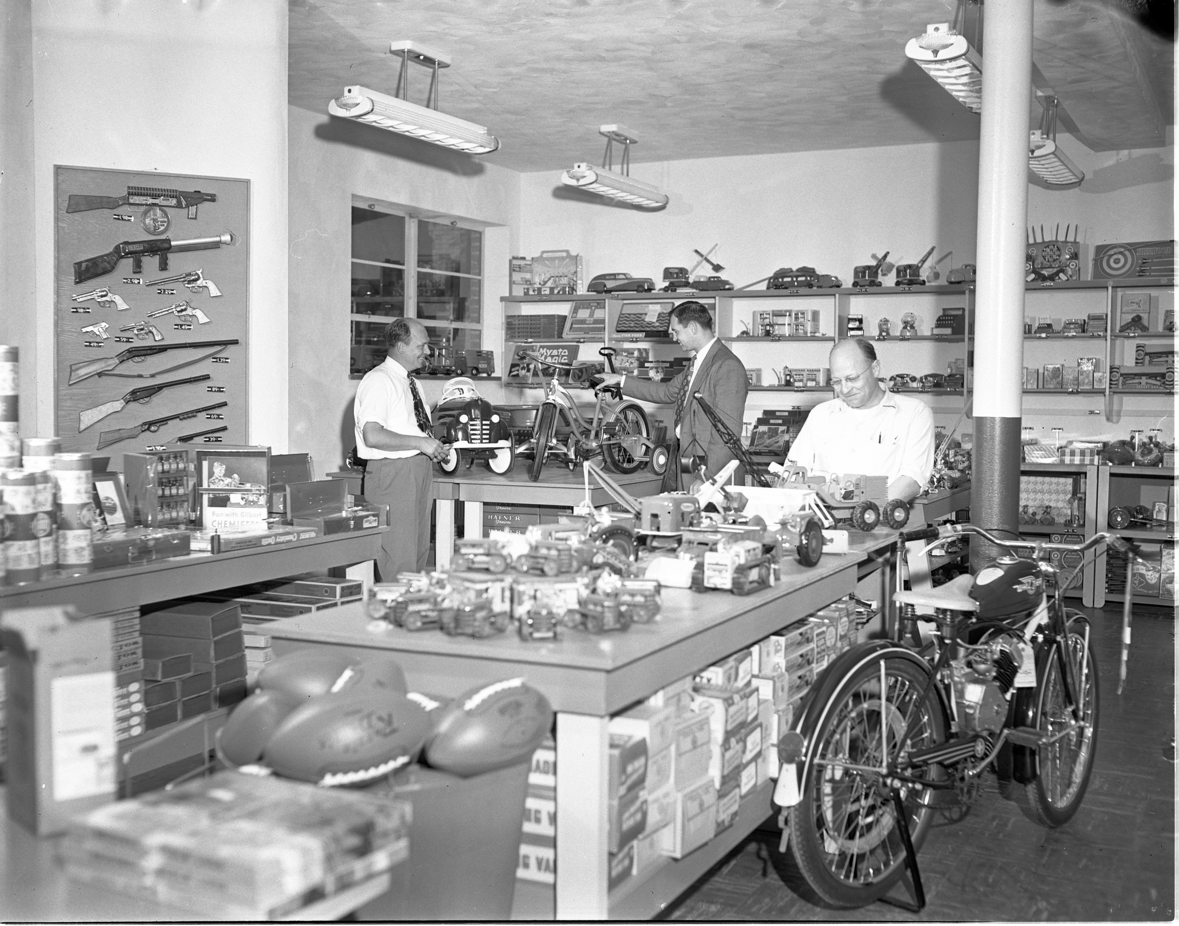 New Kiddie Korner Toy Store Nearly Ready To Open, September 1949 image