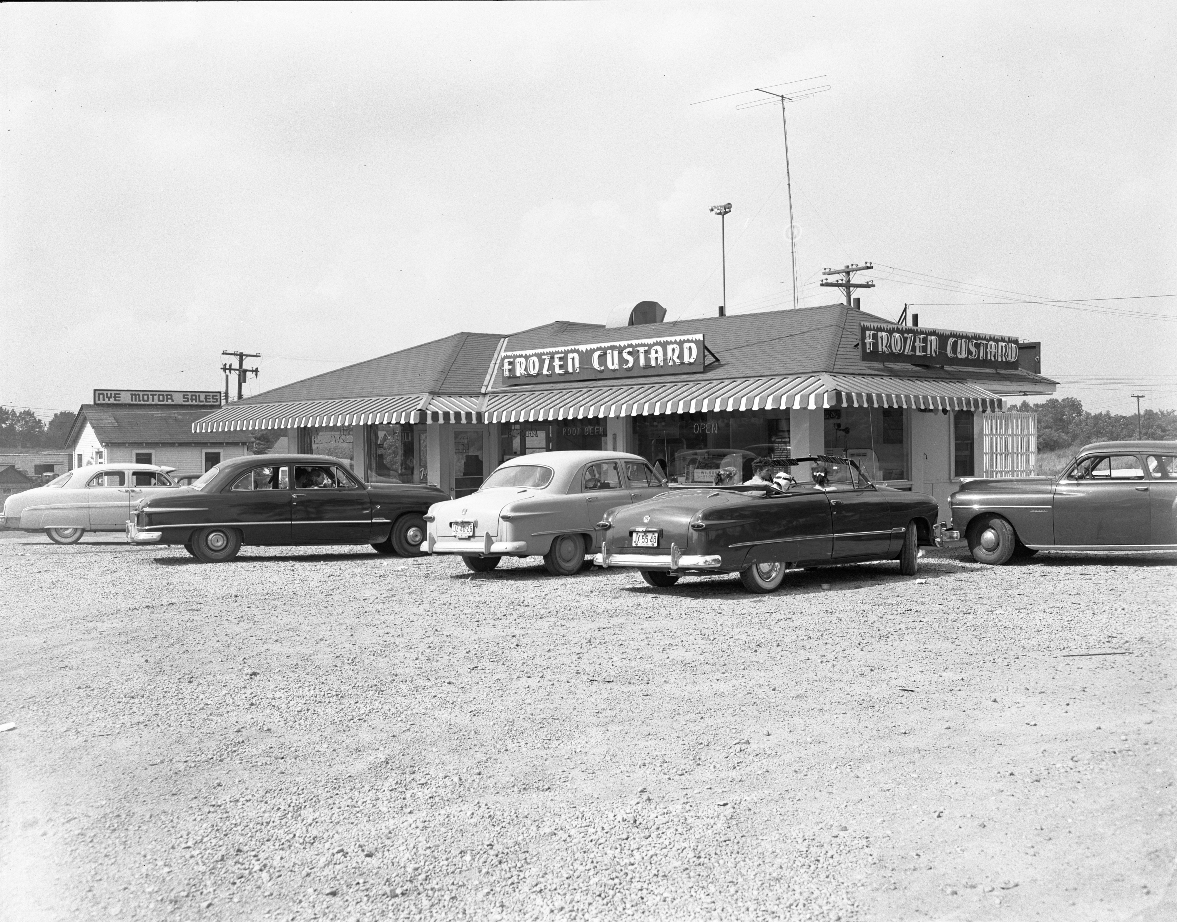 Stadium Custard and Coffee Shop, June 1952 image
