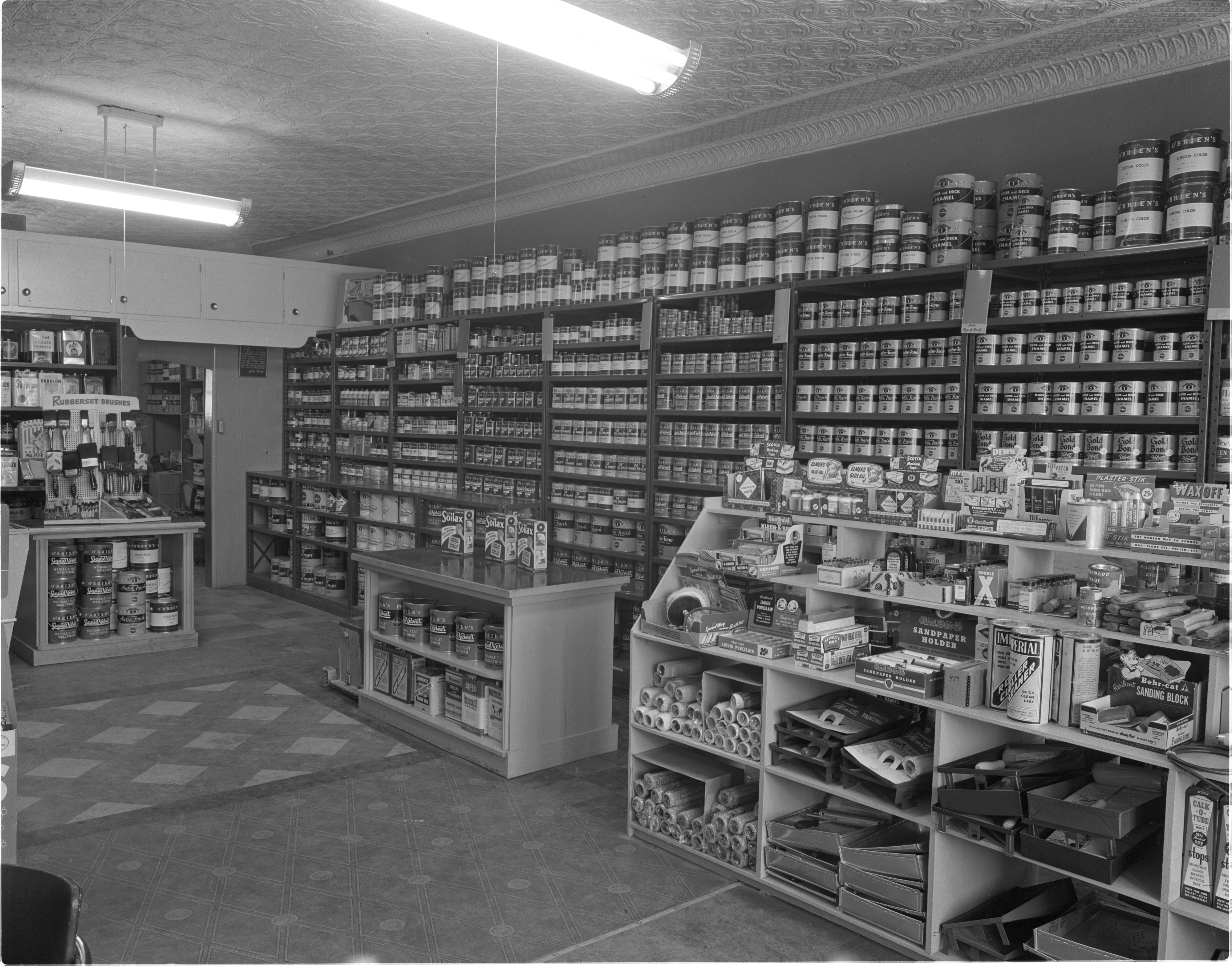 The Paint Pot - Interior, April 1953 image
