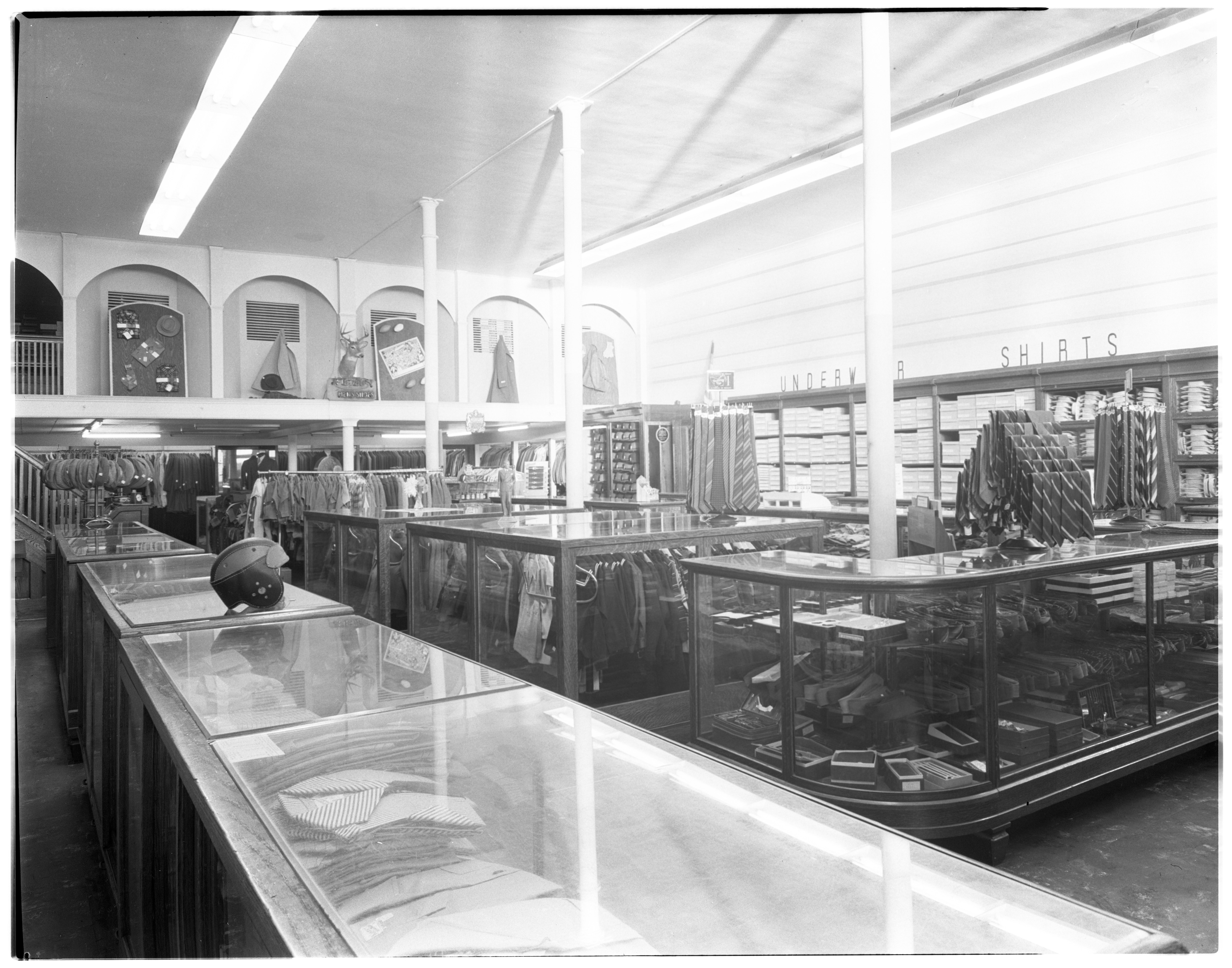 Interior of Fiegel's Department Store at 50th Anniversary, September 1941 image