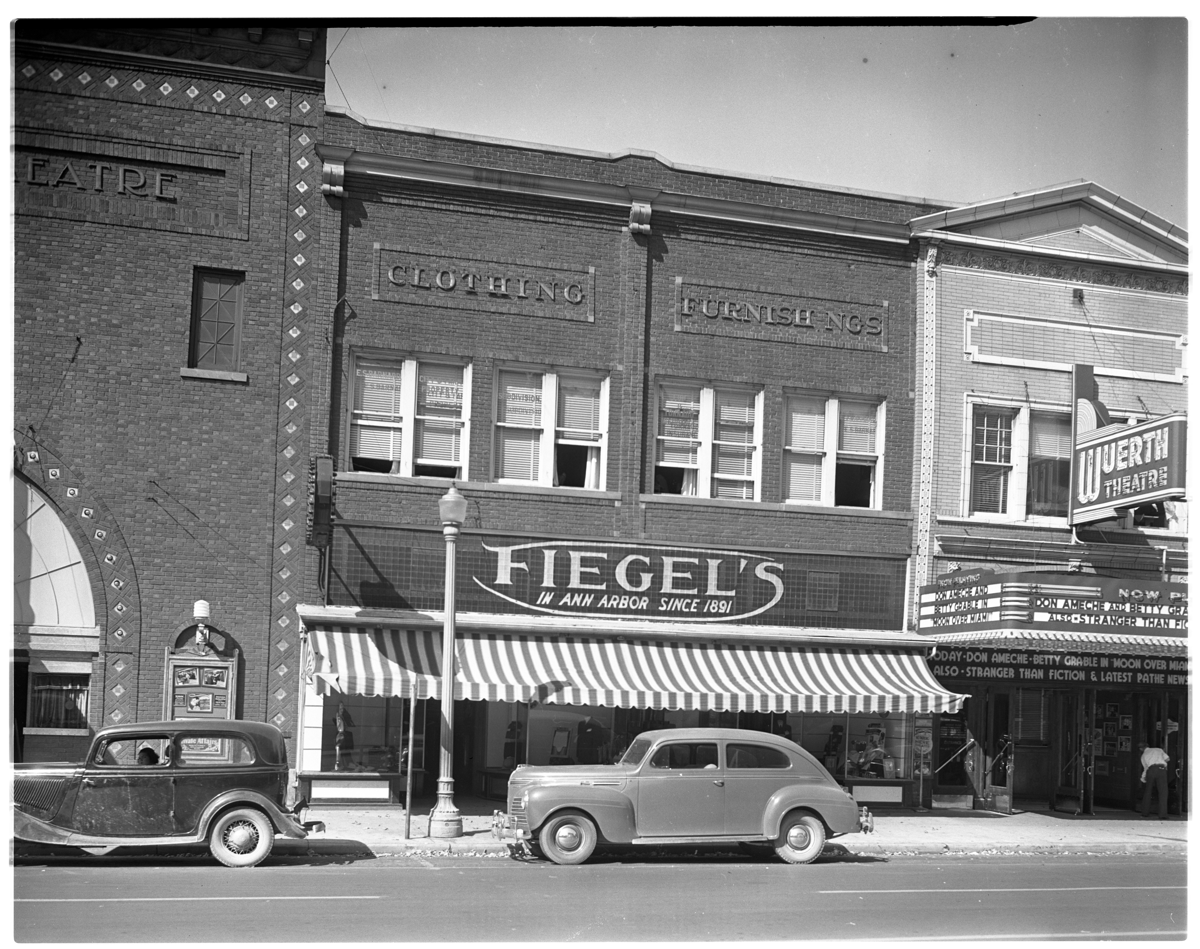 Fiegel Department Store during 50th Anniversary, September 1941 image