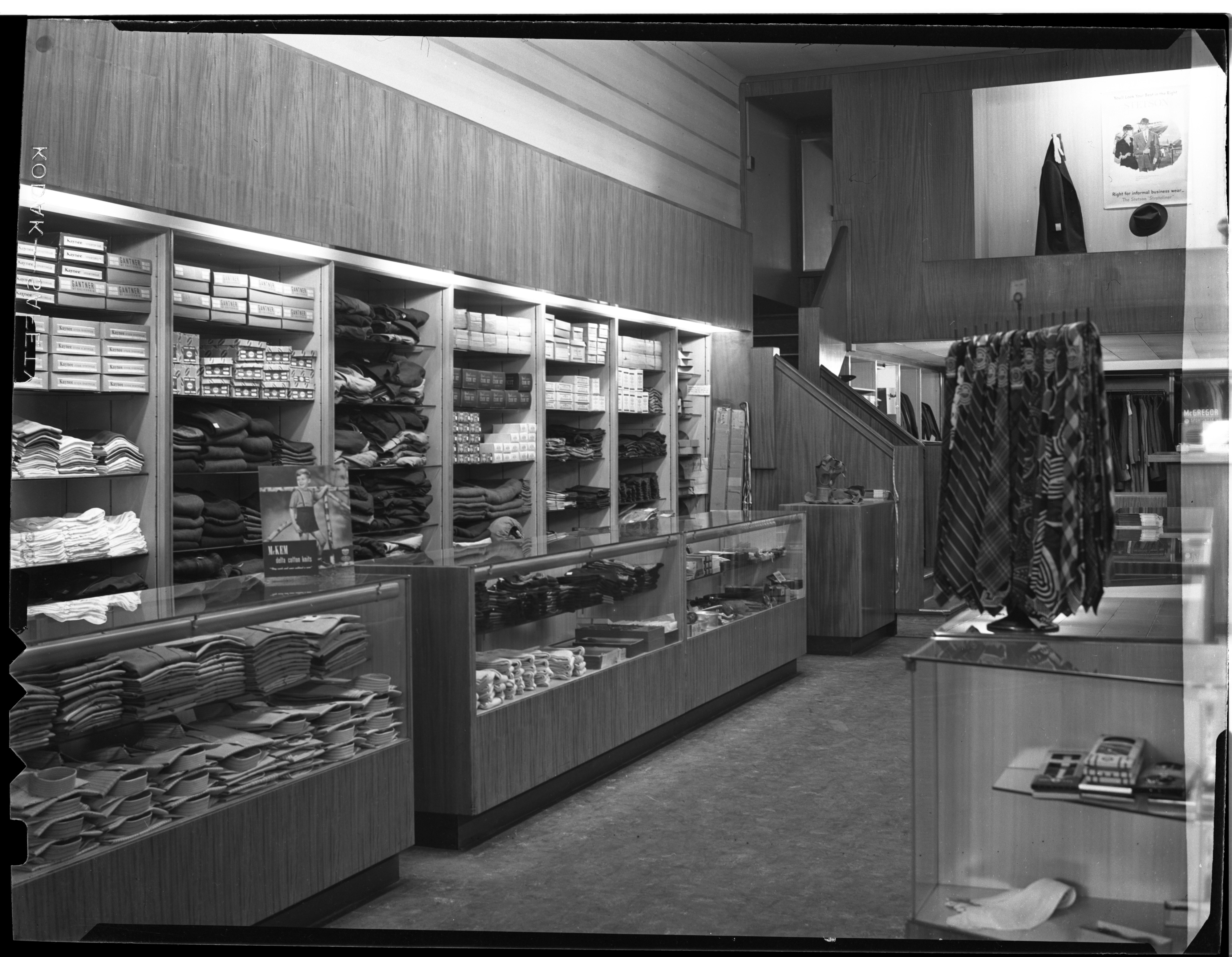 Fiegel's Clothing Store, March 1946 image