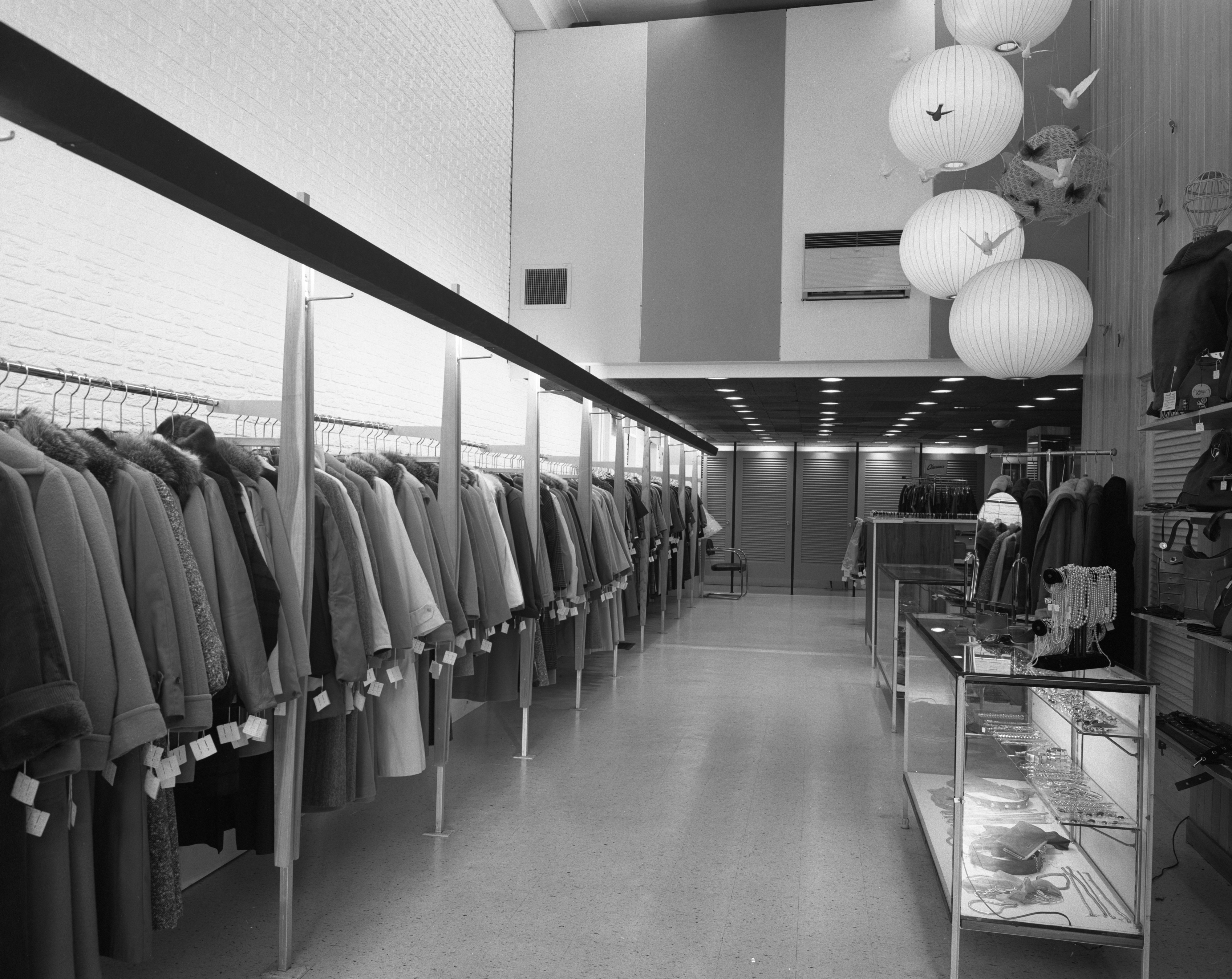 Interior of remodeled Marti Walker store at 218 S. State St., October 1959 image