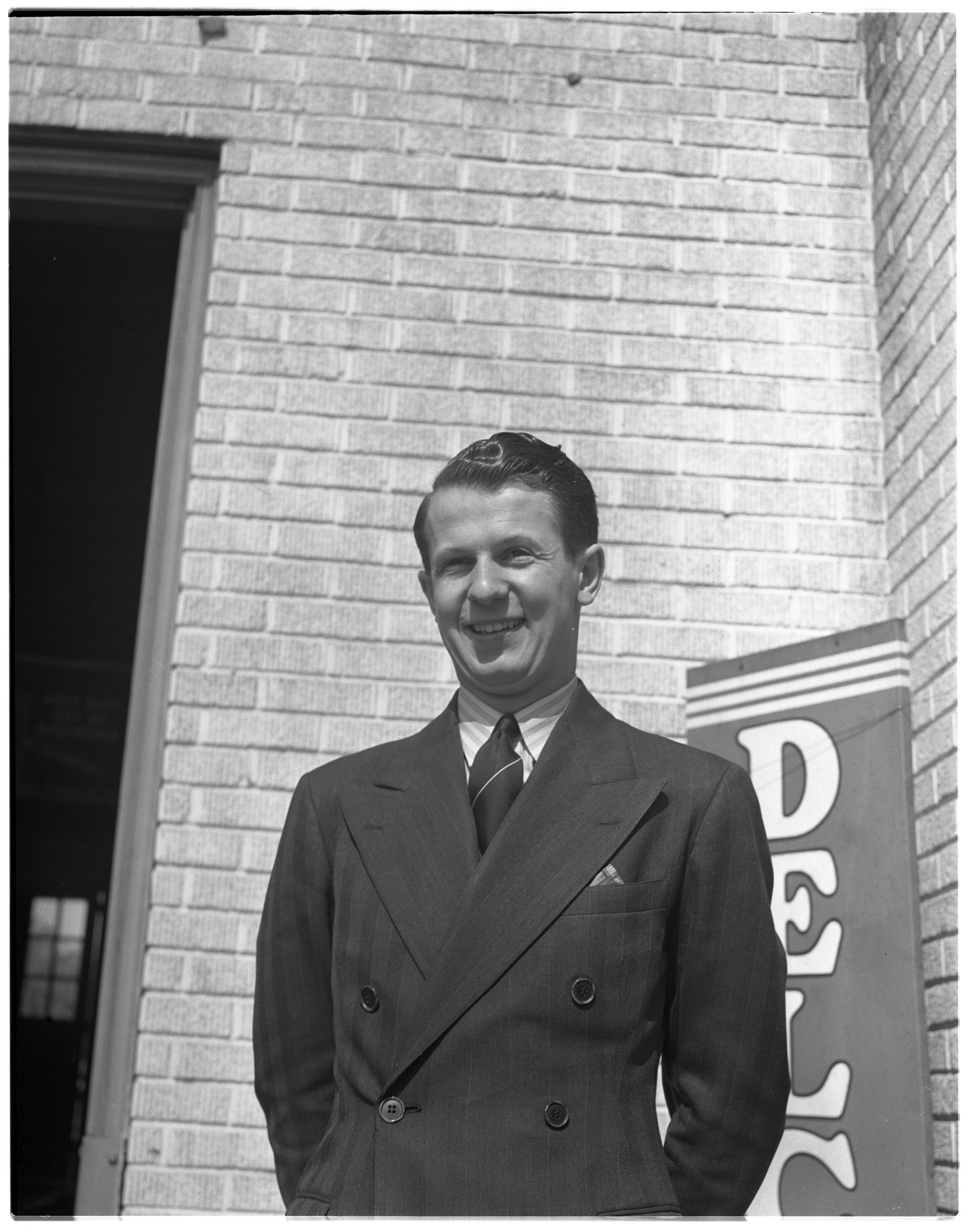 Dean Chappell, Owner - C and J Tire Service, May 1940 image