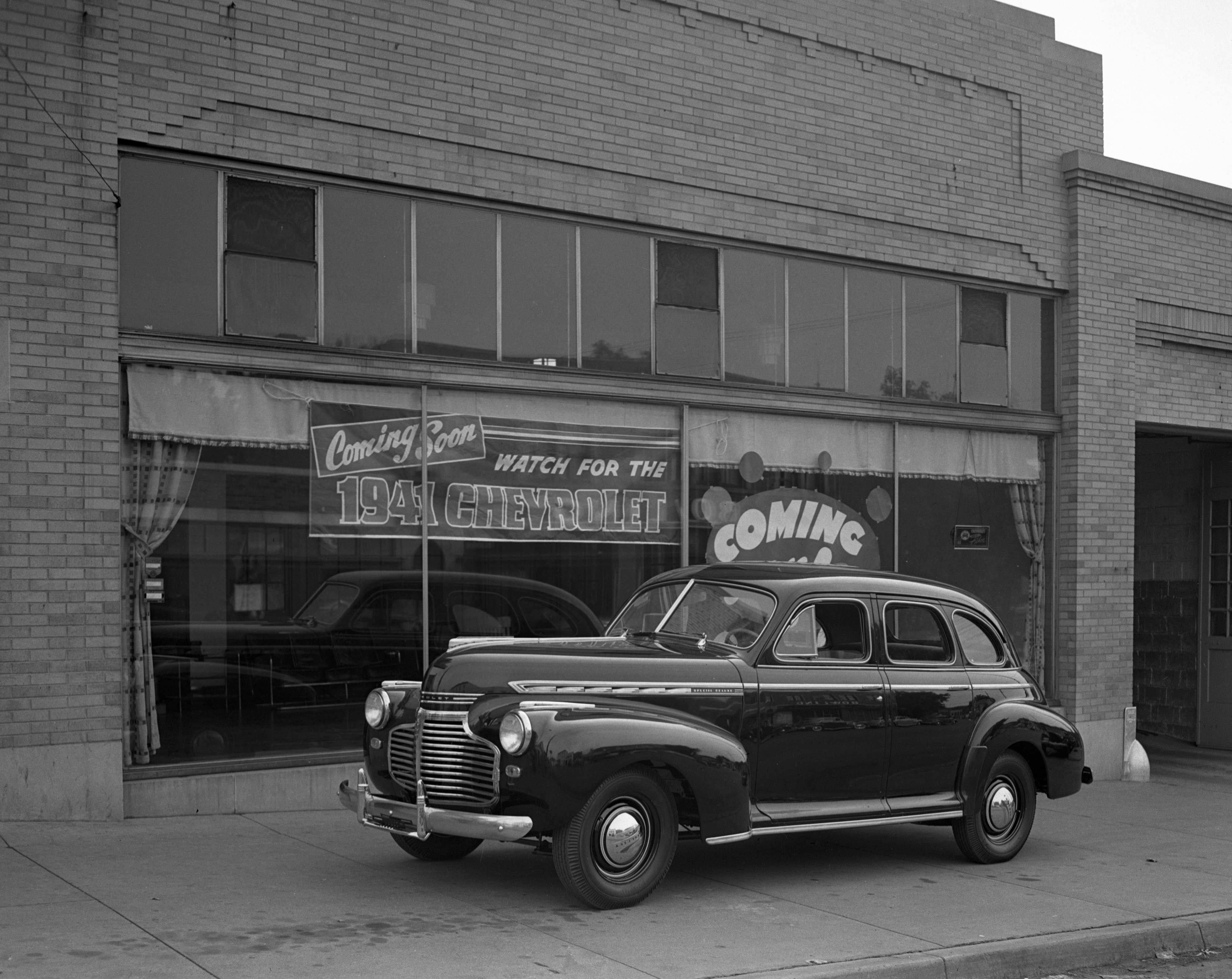 1941 Chevrolet at Huron Motor Sales, September 1940 image