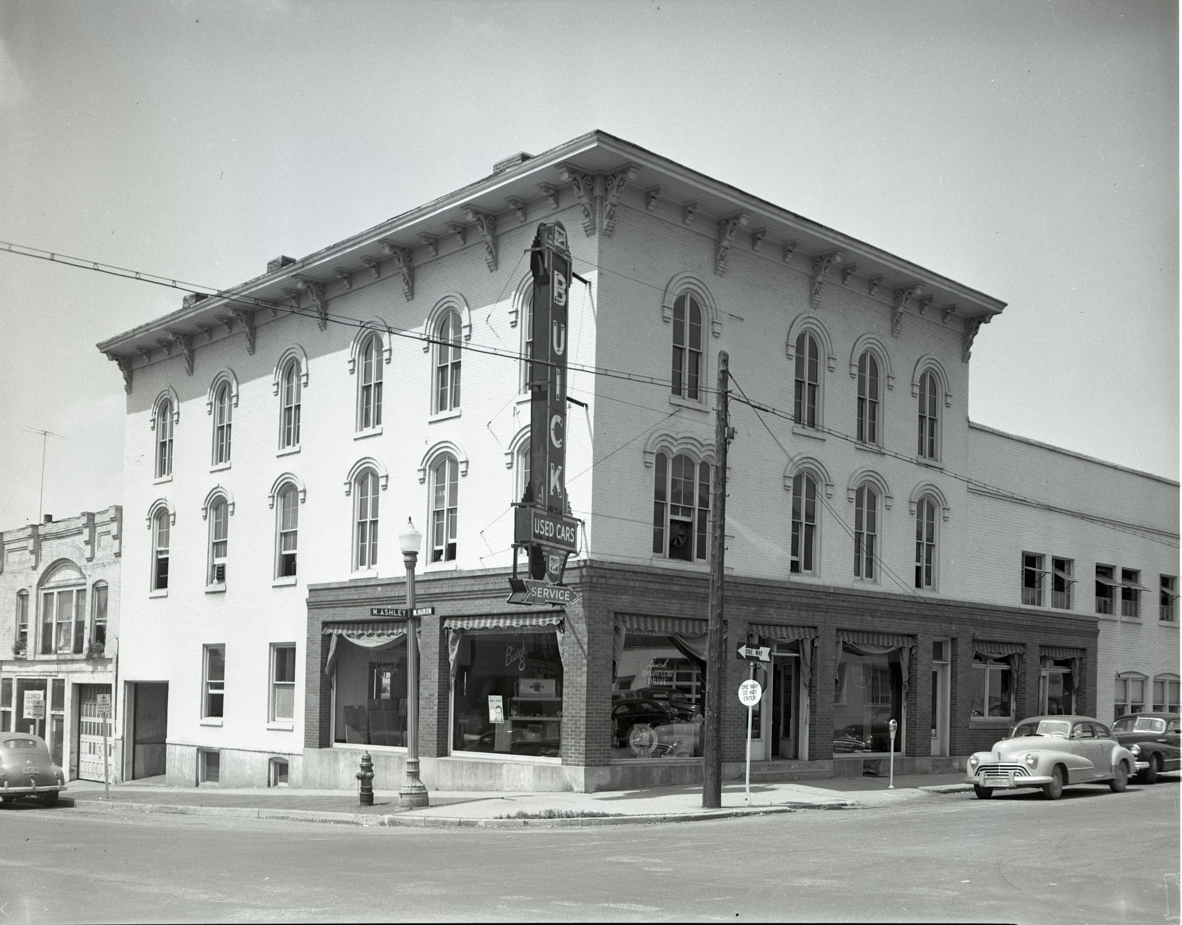 ann arbor buick - 101 n. ashley, august 1948   ann arbor district