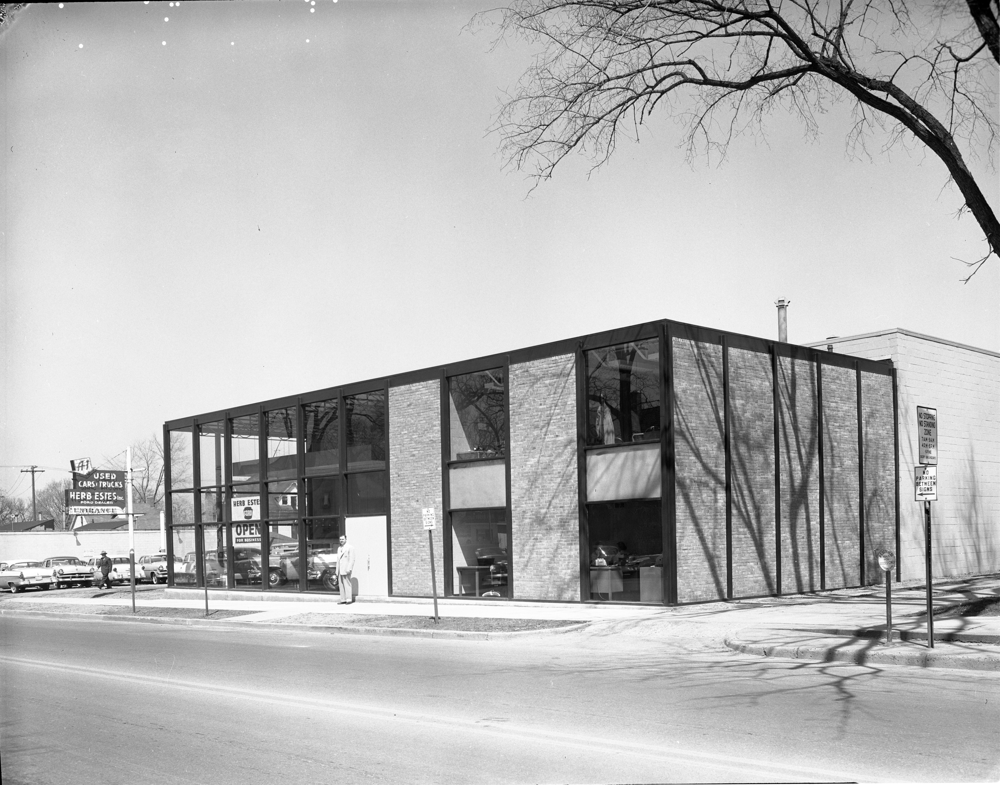 Herb Estes, Inc., In New Building - 503 E. Huron Street, May 1956 image