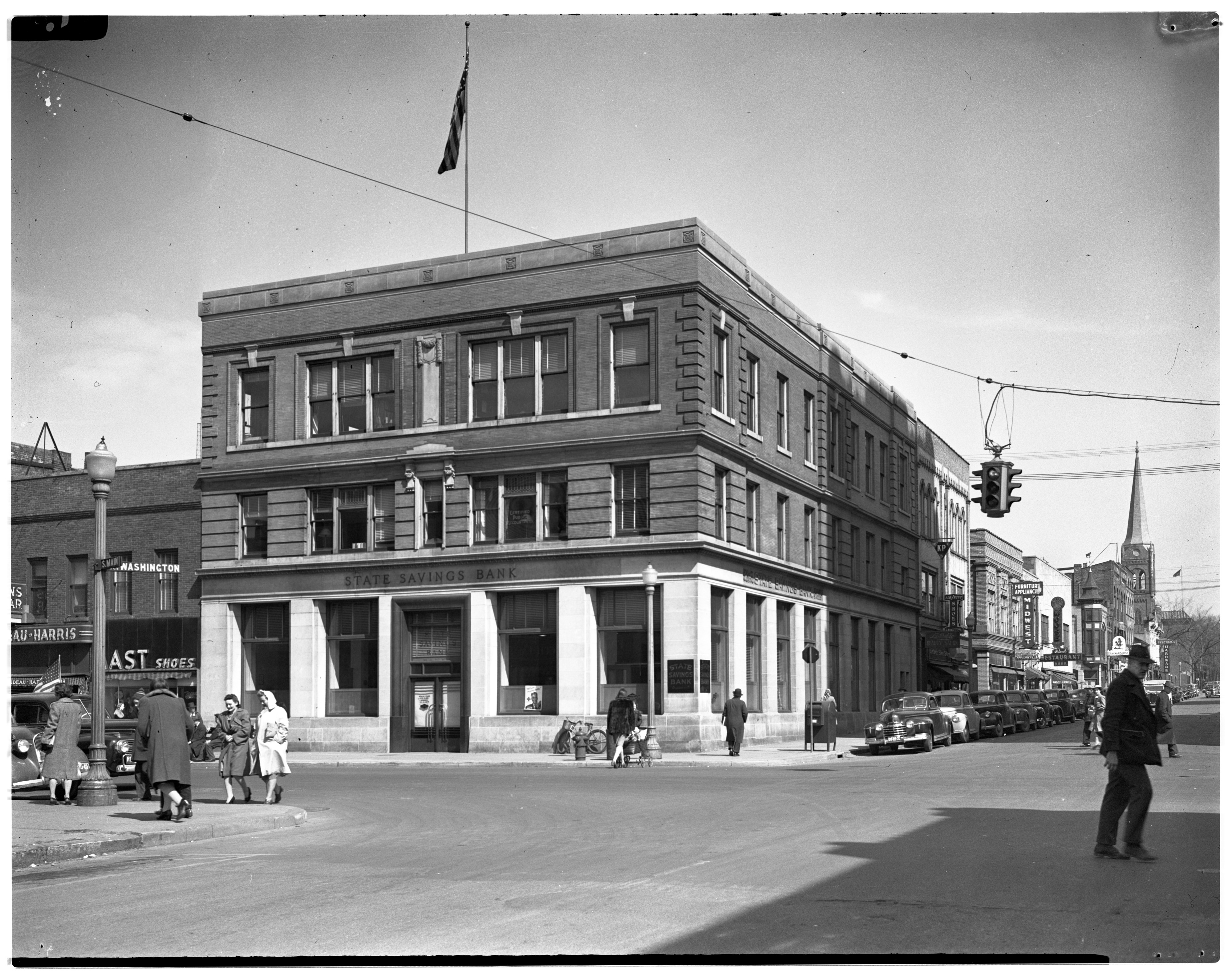 Image from State Savings Bank, March 1943