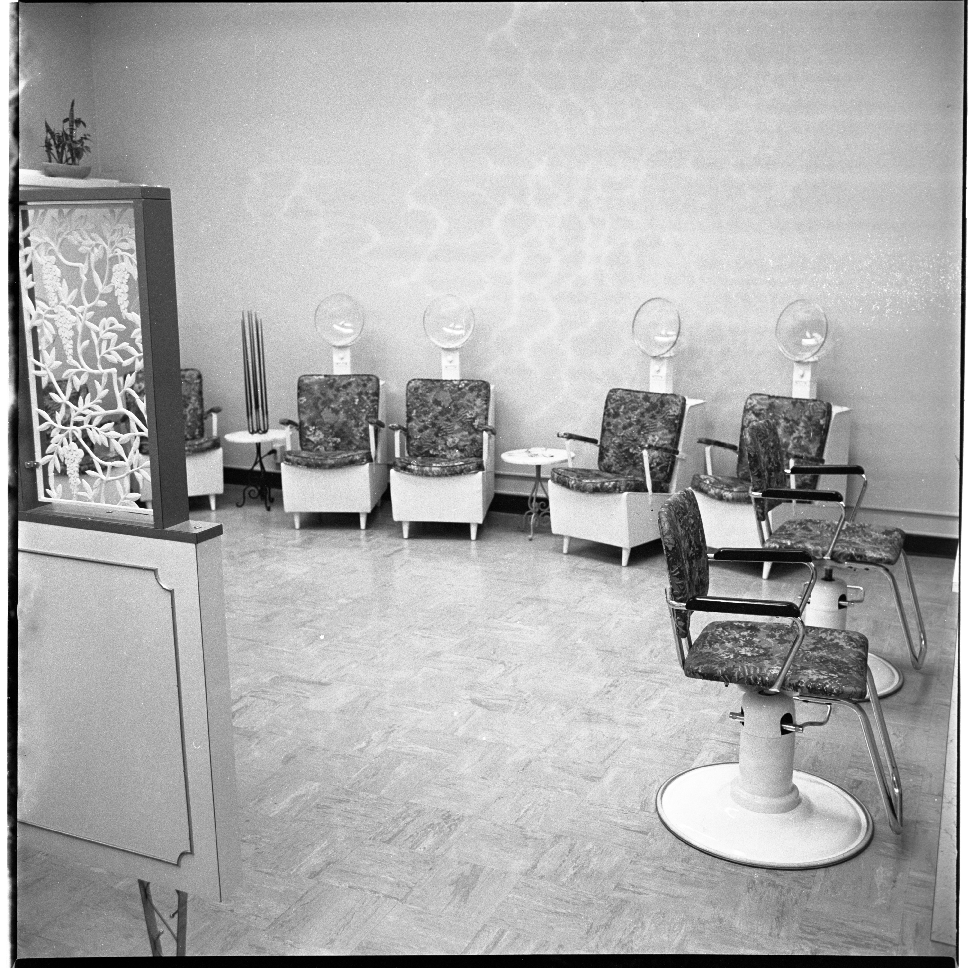 The Blue Wig Beauty Salon - Interior, February 1966 image