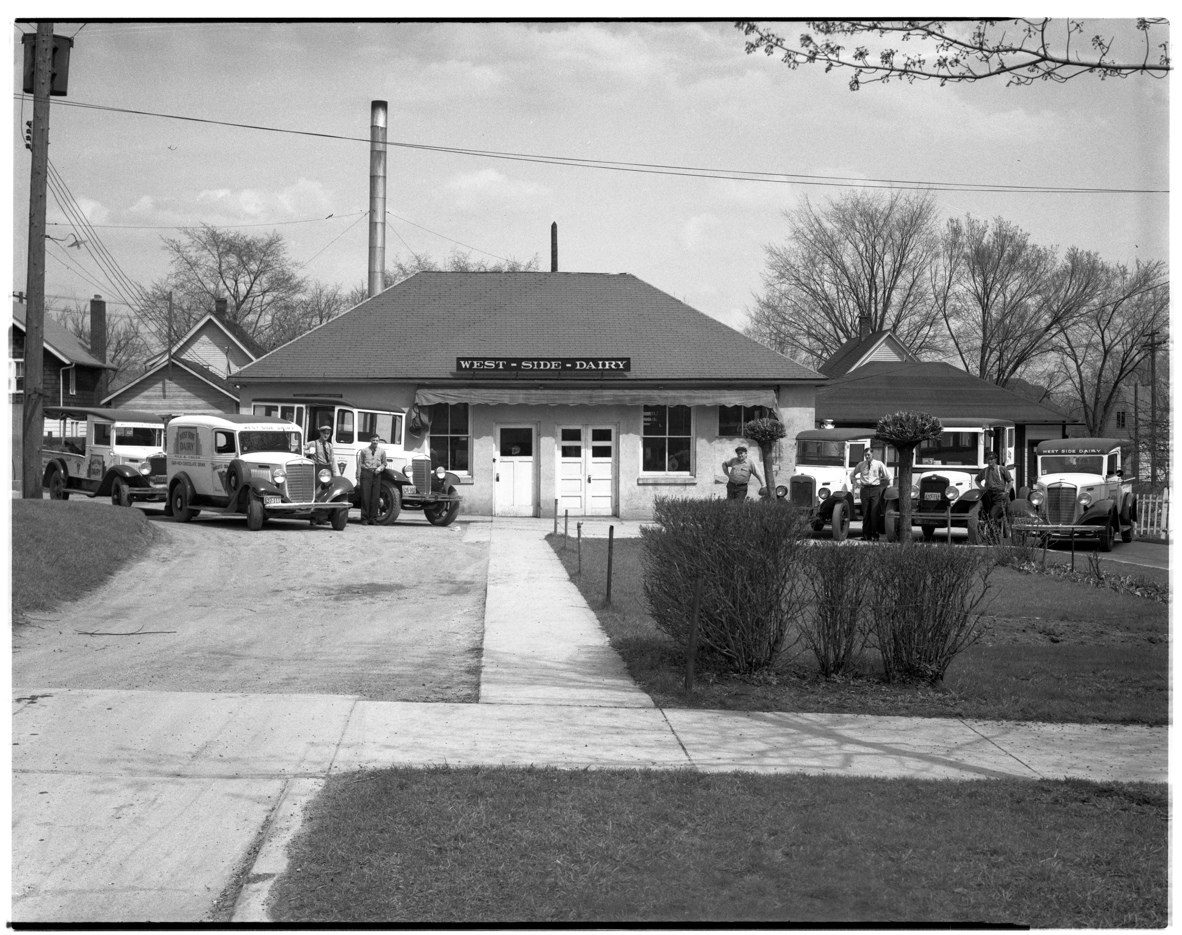 West Side Dairy, May 1936 image