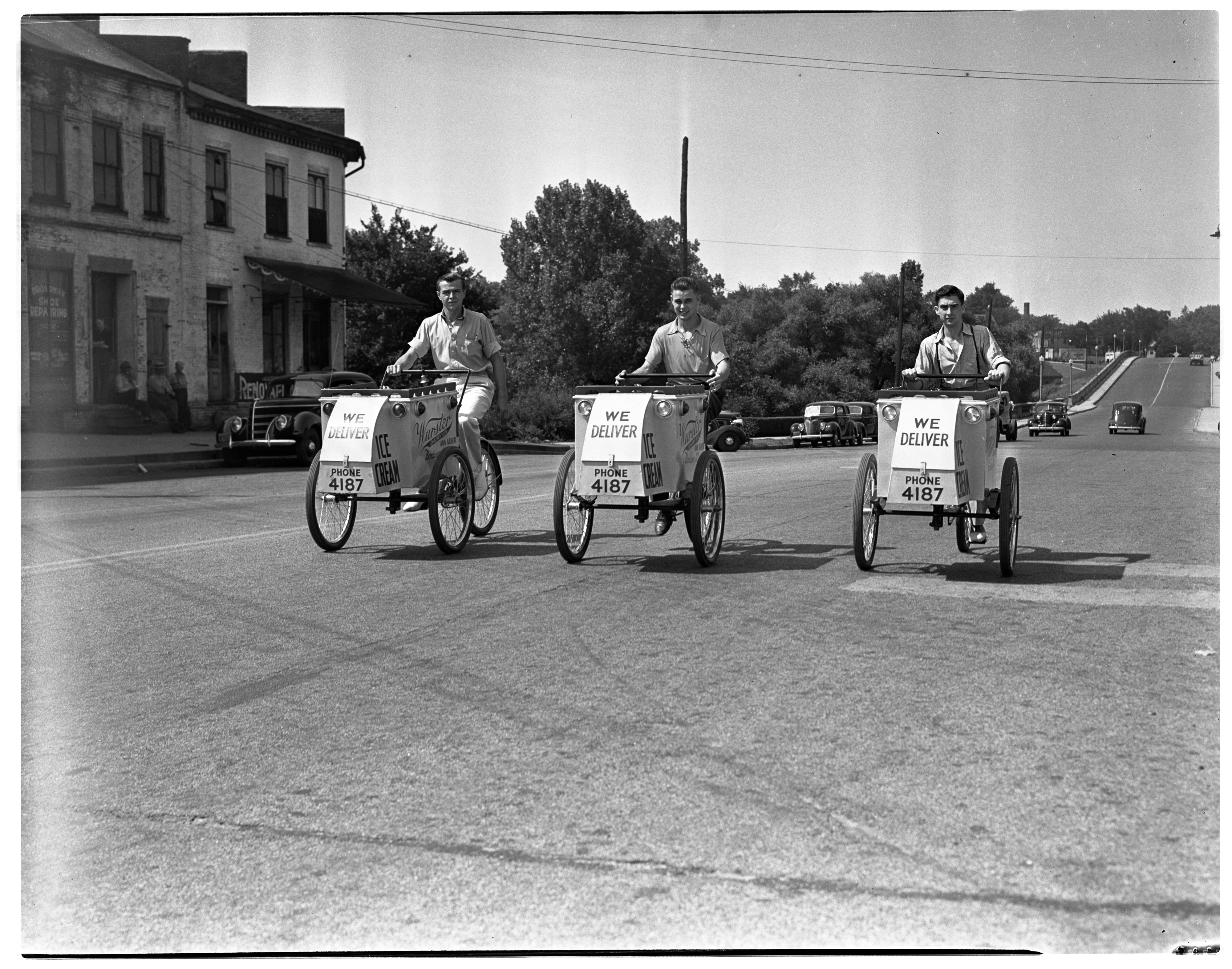 Wurster Dairy Ice Cream Carts on Broadway  image